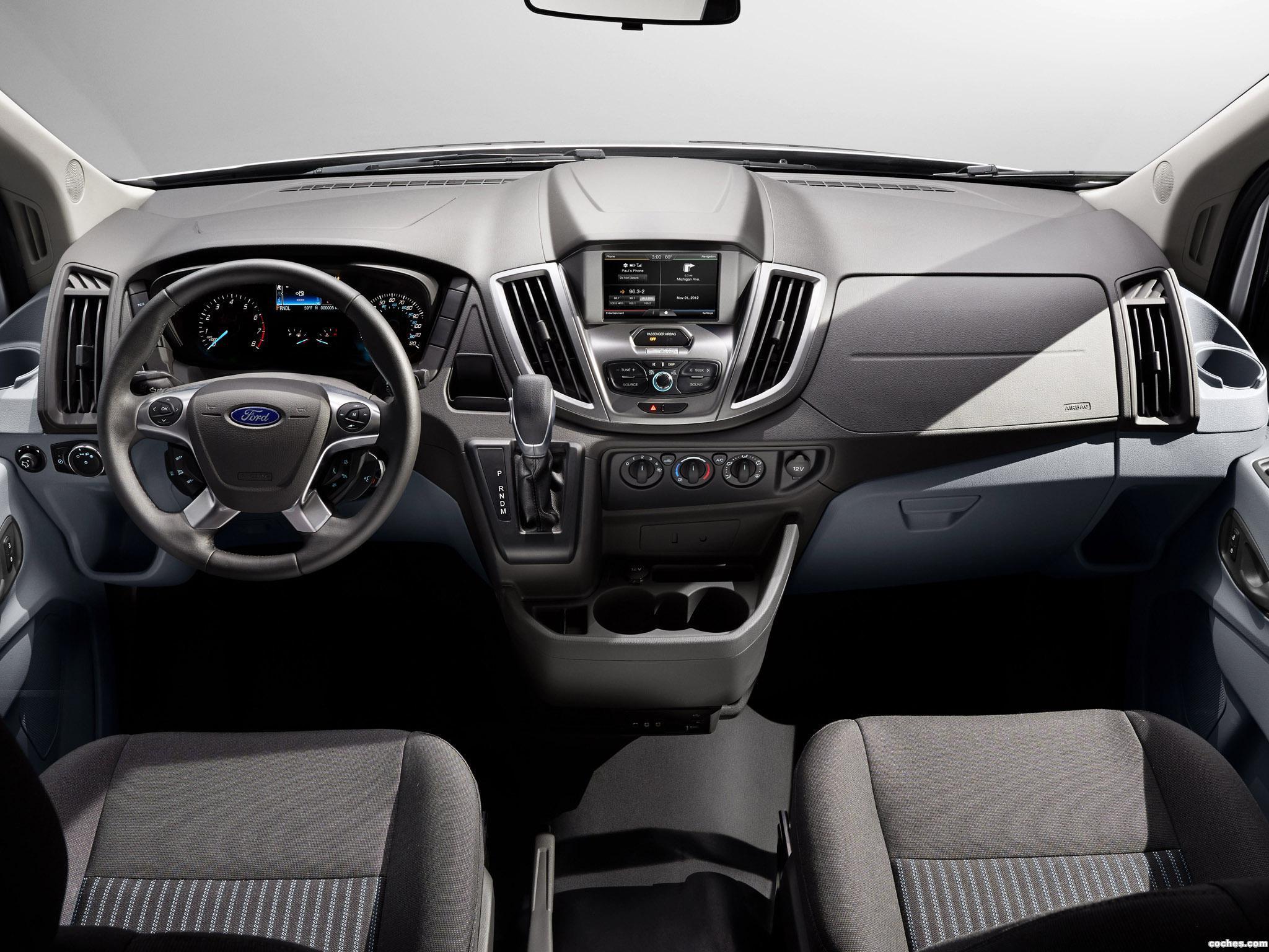 Foto 17 de Ford Transit LWB Van USA 2012