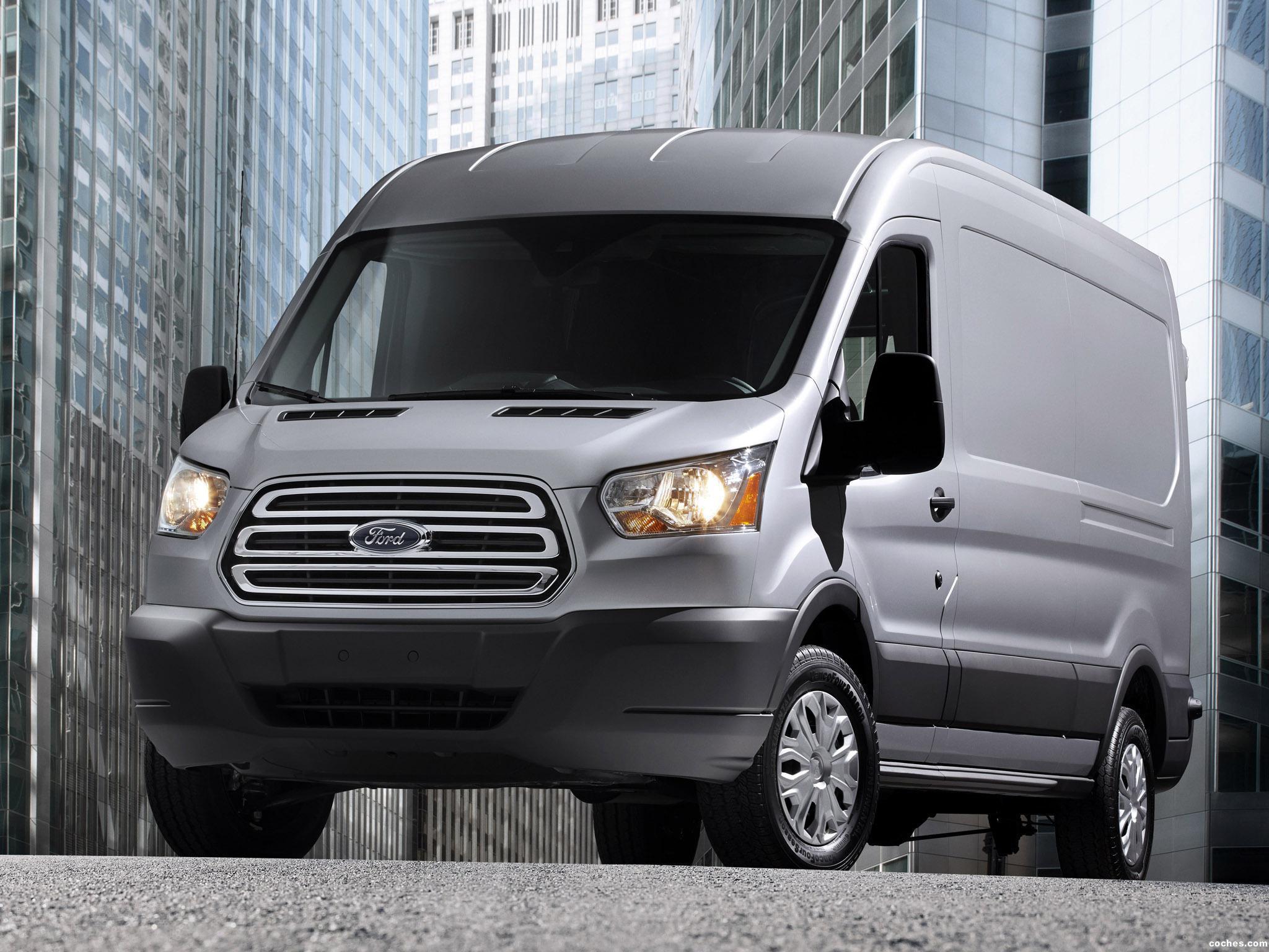 Foto 11 de Ford Transit LWB Van USA 2012