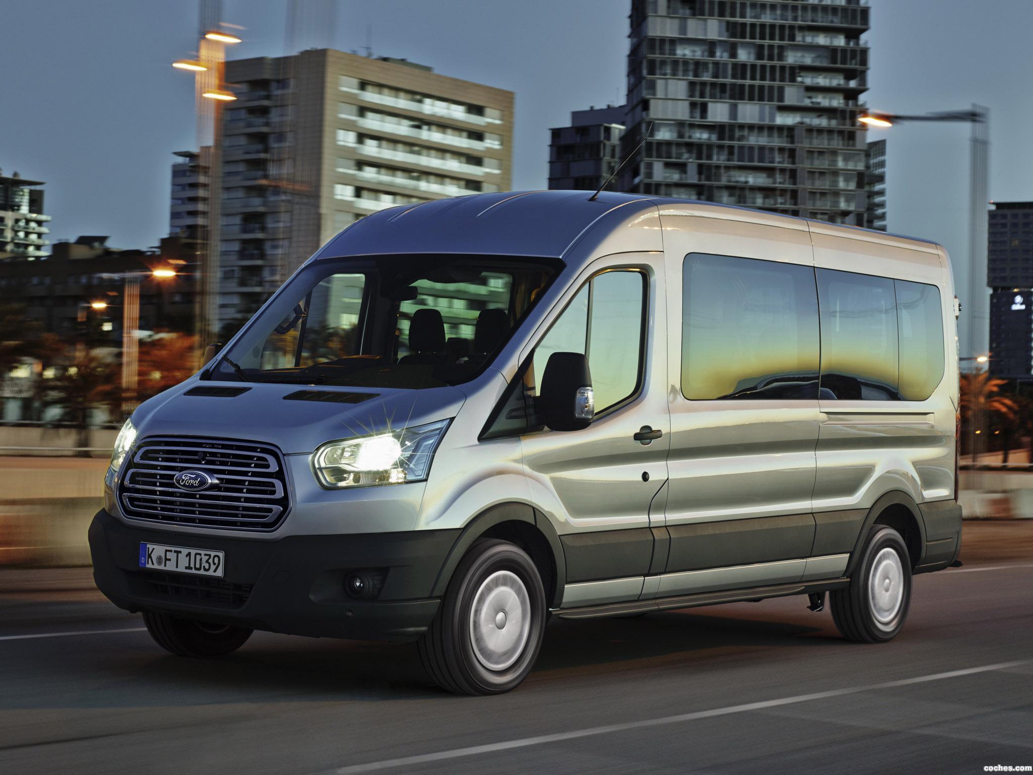 Foto 0 de Ford Transit Minibus 2014