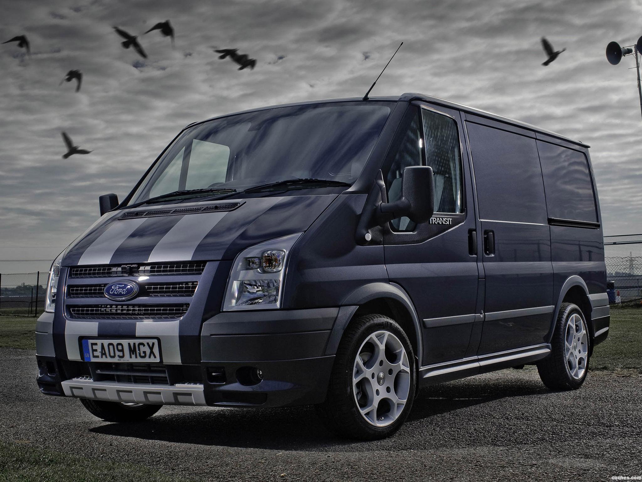 Foto 0 de Ford Transit SportVan Silver Grey UK 2009