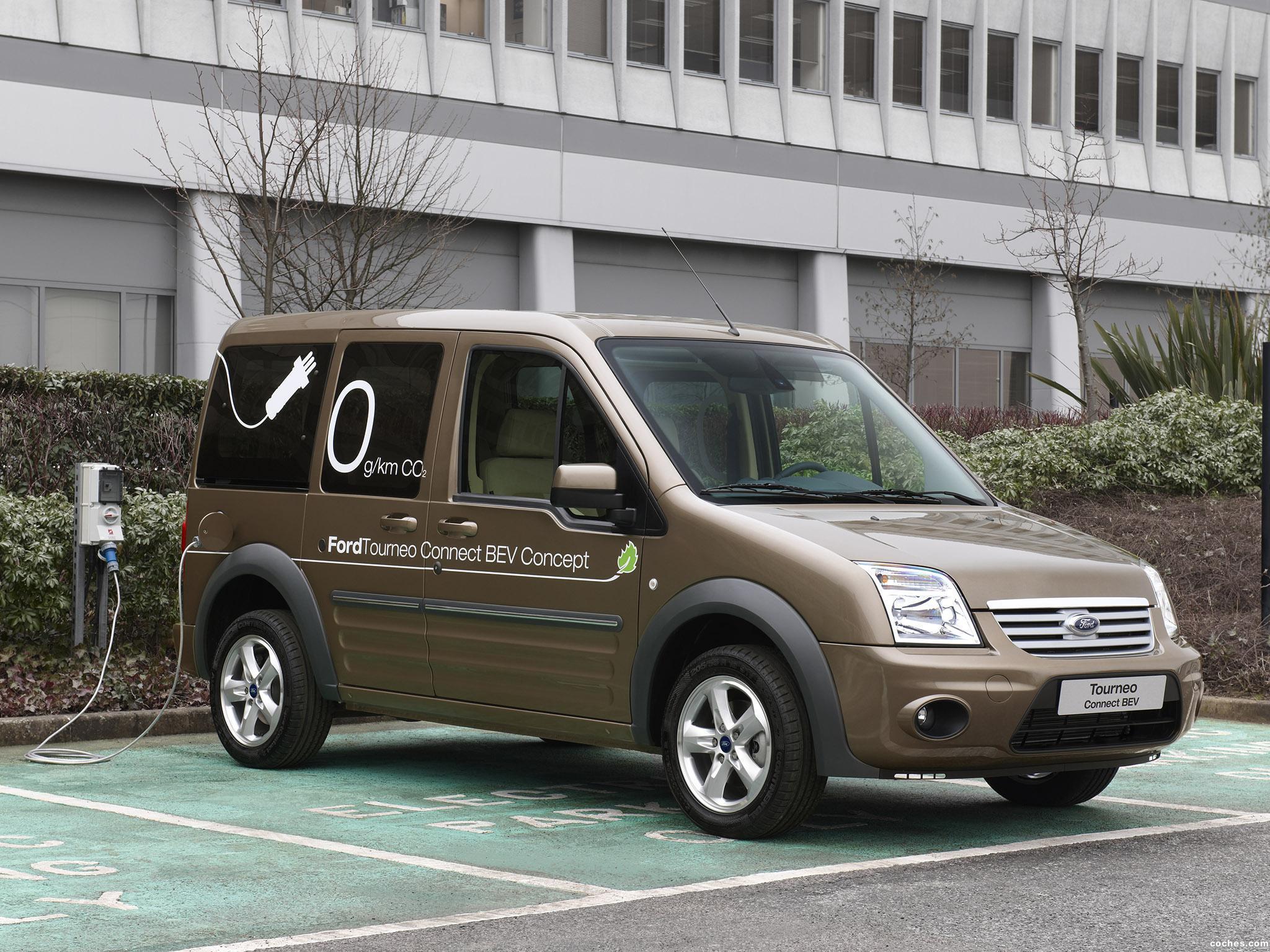 Foto 2 de Ford Transit Tourneo Connect BEV Concept 2009