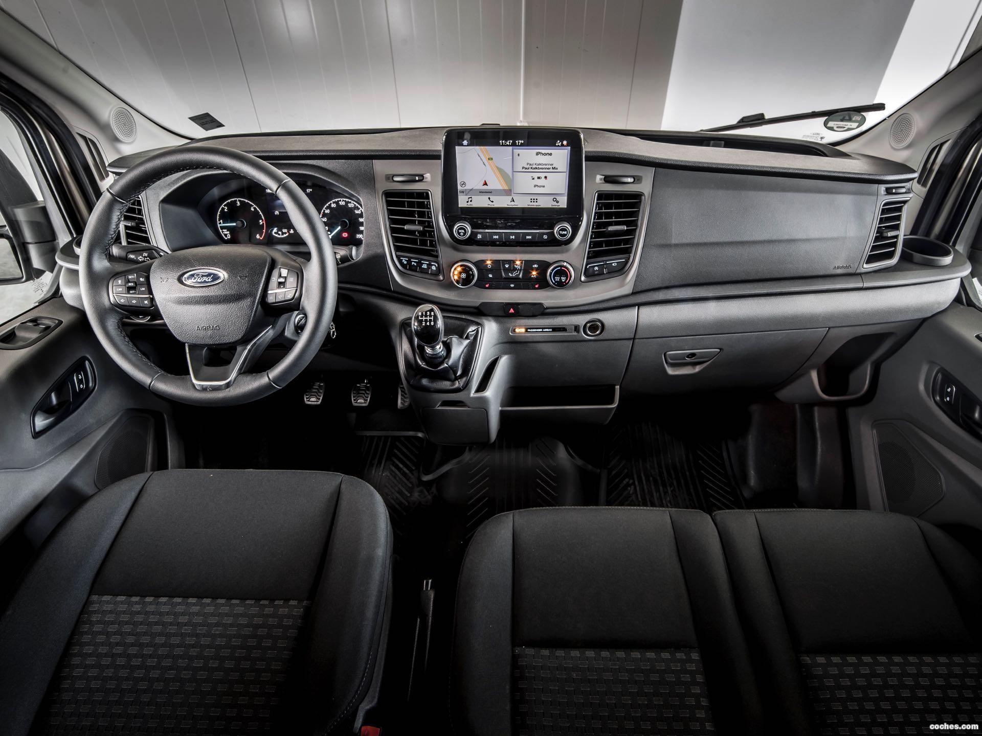 Foto 8 de Ford Transit Doble Cabina Van EcoBlue Hybrid 2019