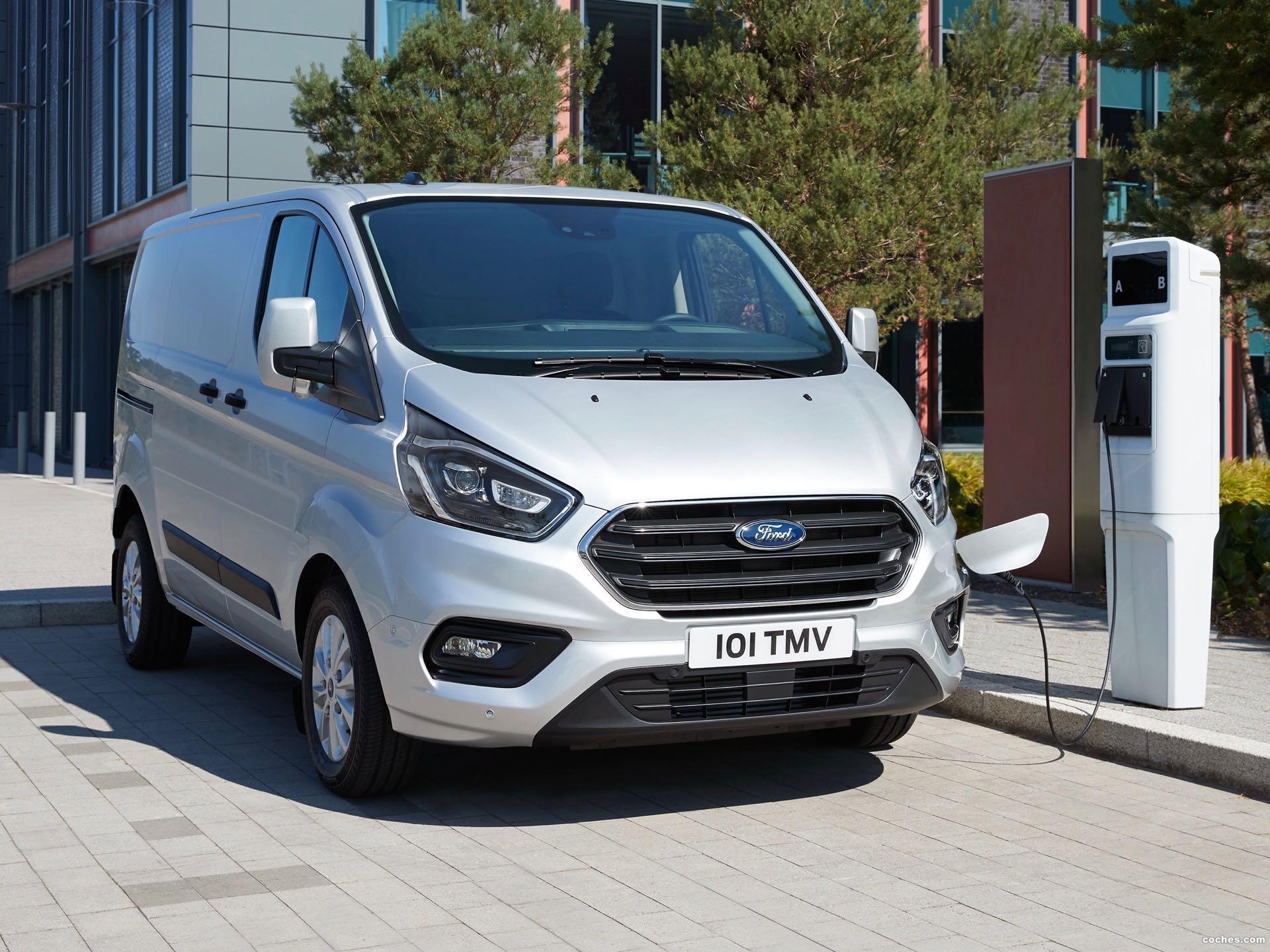 Foto 0 de Ford Transit Custom PHEV LWB 2020