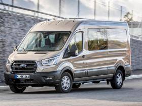 Ver foto 3 de Ford Transit Doble Cabina Van EcoBlue Hybrid 2019