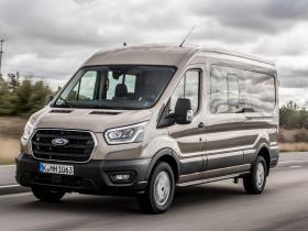 Ver foto 1 de Ford Transit Doble Cabina Van EcoBlue Hybrid 2019