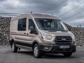 Ver foto 11 de Ford Transit Doble Cabina Van EcoBlue Hybrid 2019