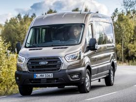 Ver foto 2 de Ford Transit Doble Cabina Van EcoBlue Hybrid 2019