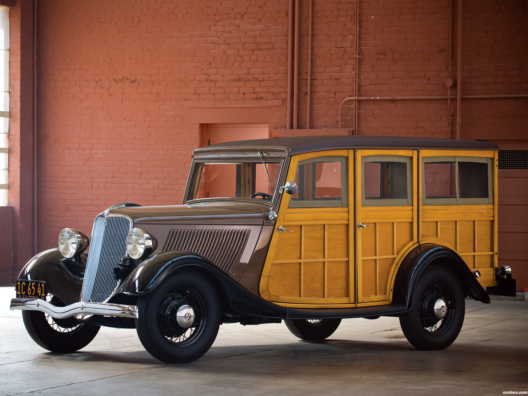 Foto 0 de Ford V8 Station Wagon 1933