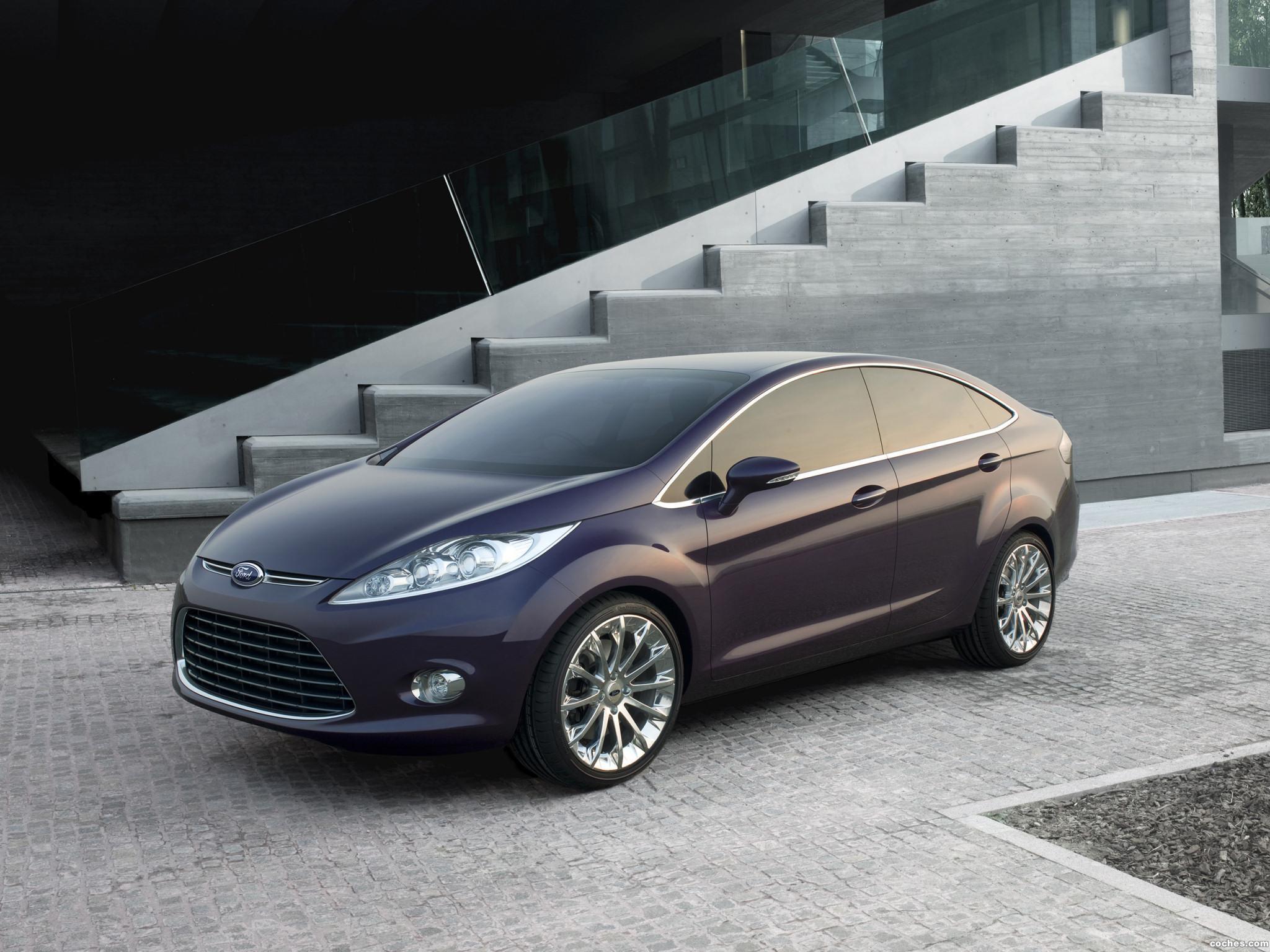 Foto 0 de Ford Sedan Concept Guangzhou 2007