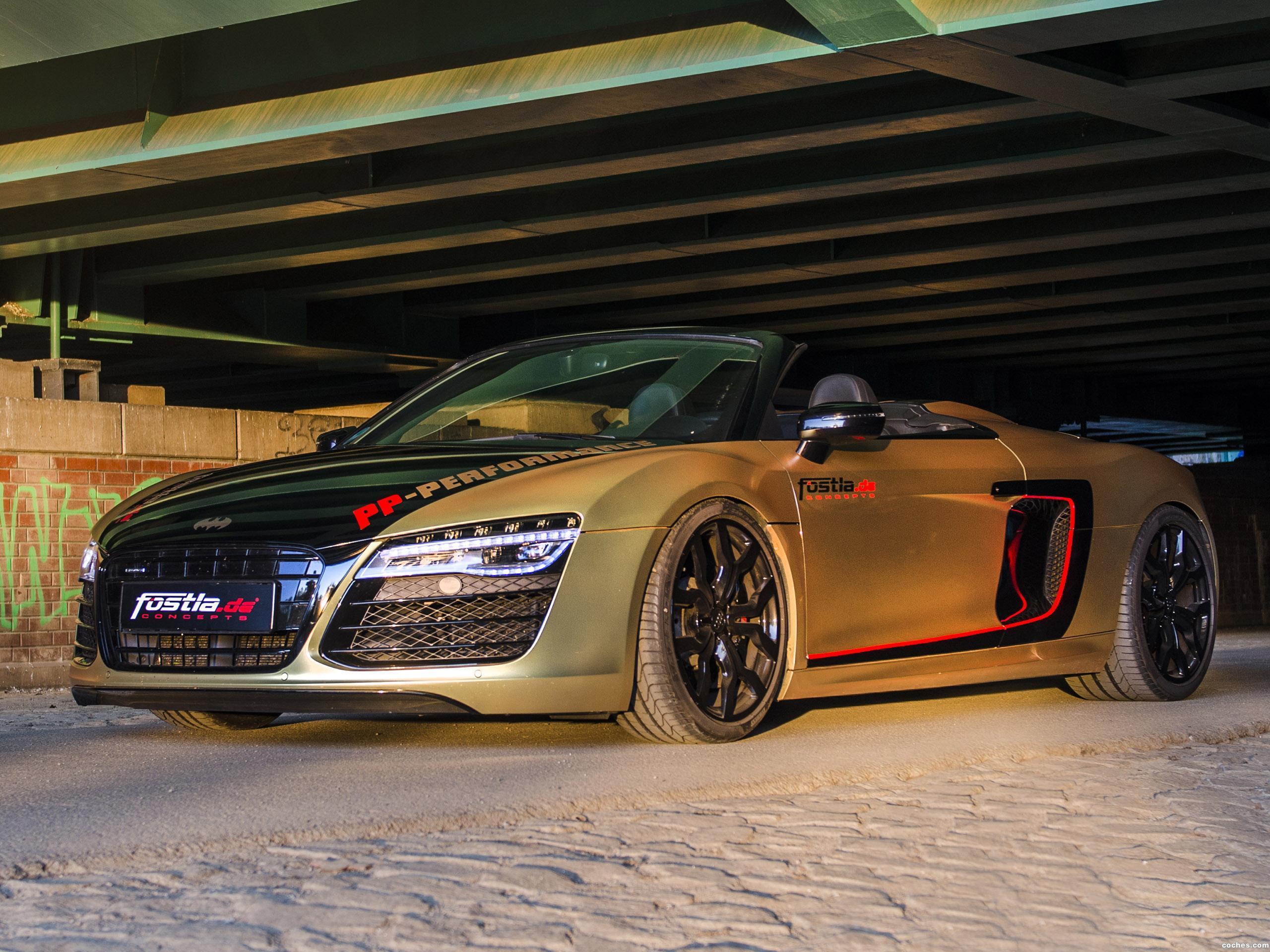 Foto 2 de Fostla Audi R8 Spyder V10 Power 2017