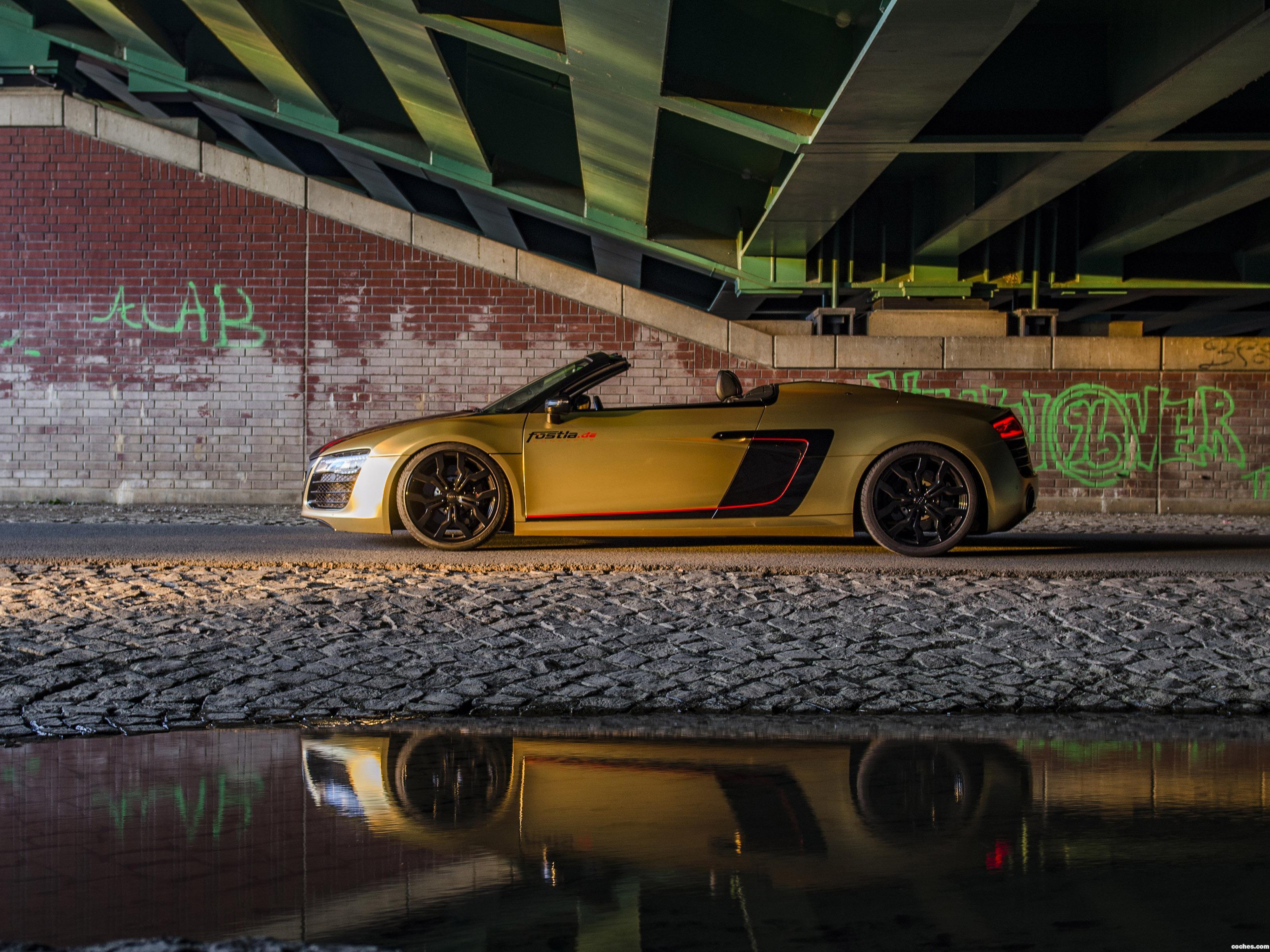 Foto 4 de Fostla Audi R8 Spyder V10 Power 2017