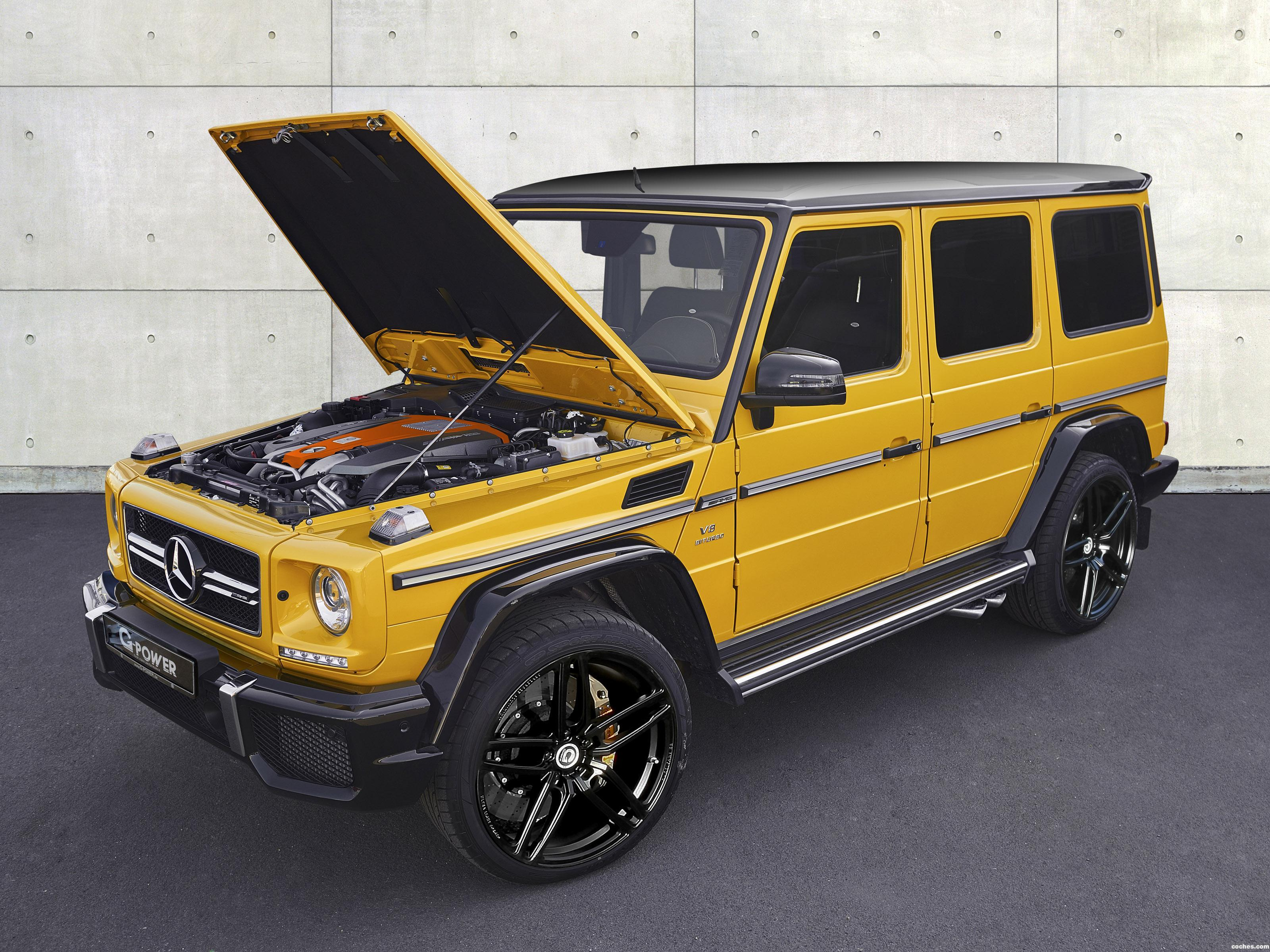 Foto 0 de G-power Mercedes AMG G 63 W463 2016
