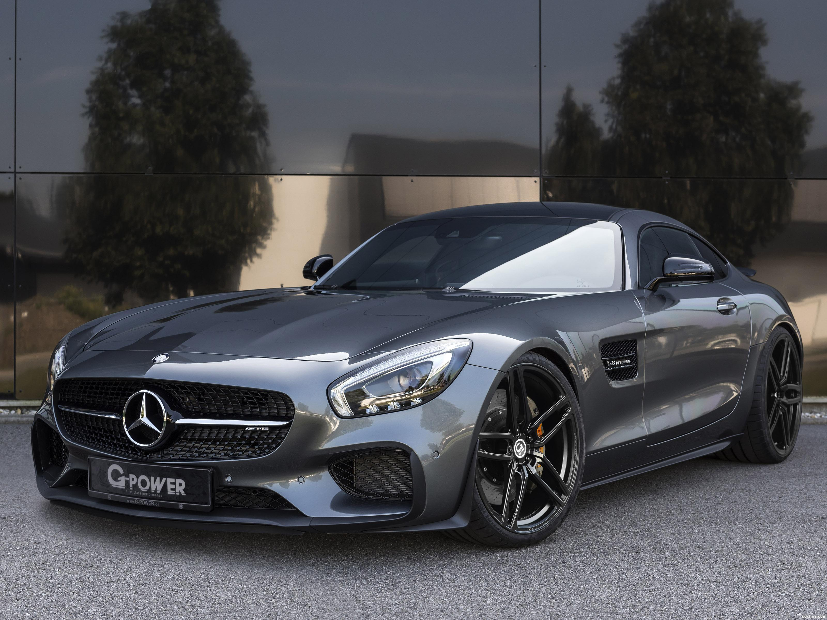 Foto 0 de Mercedes AMG GT G-Power 2016