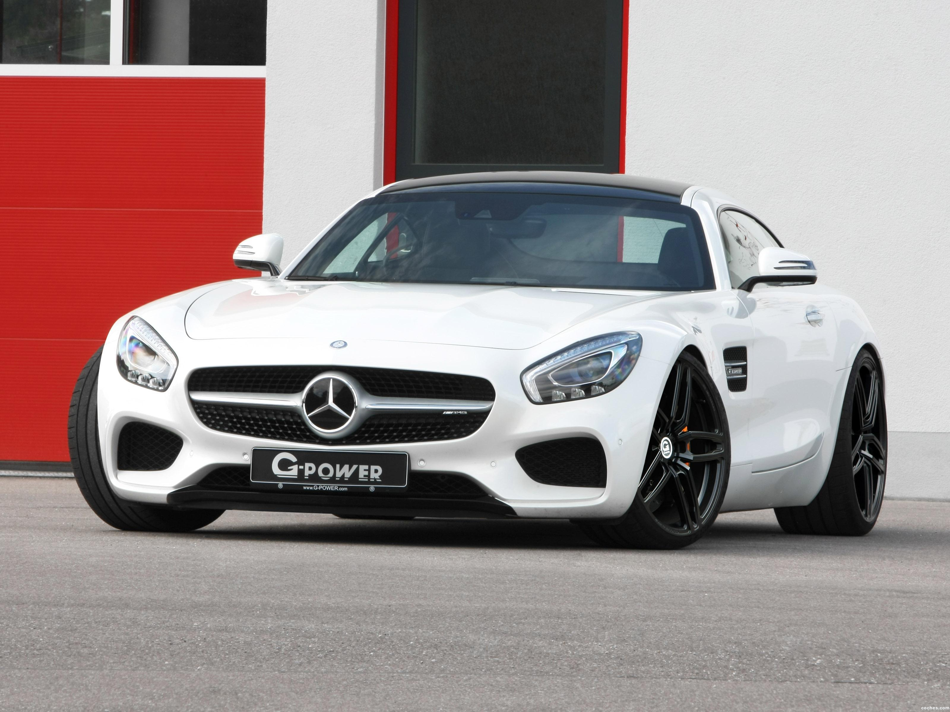 Foto 3 de Mercedes AMG GT G-Power 2016