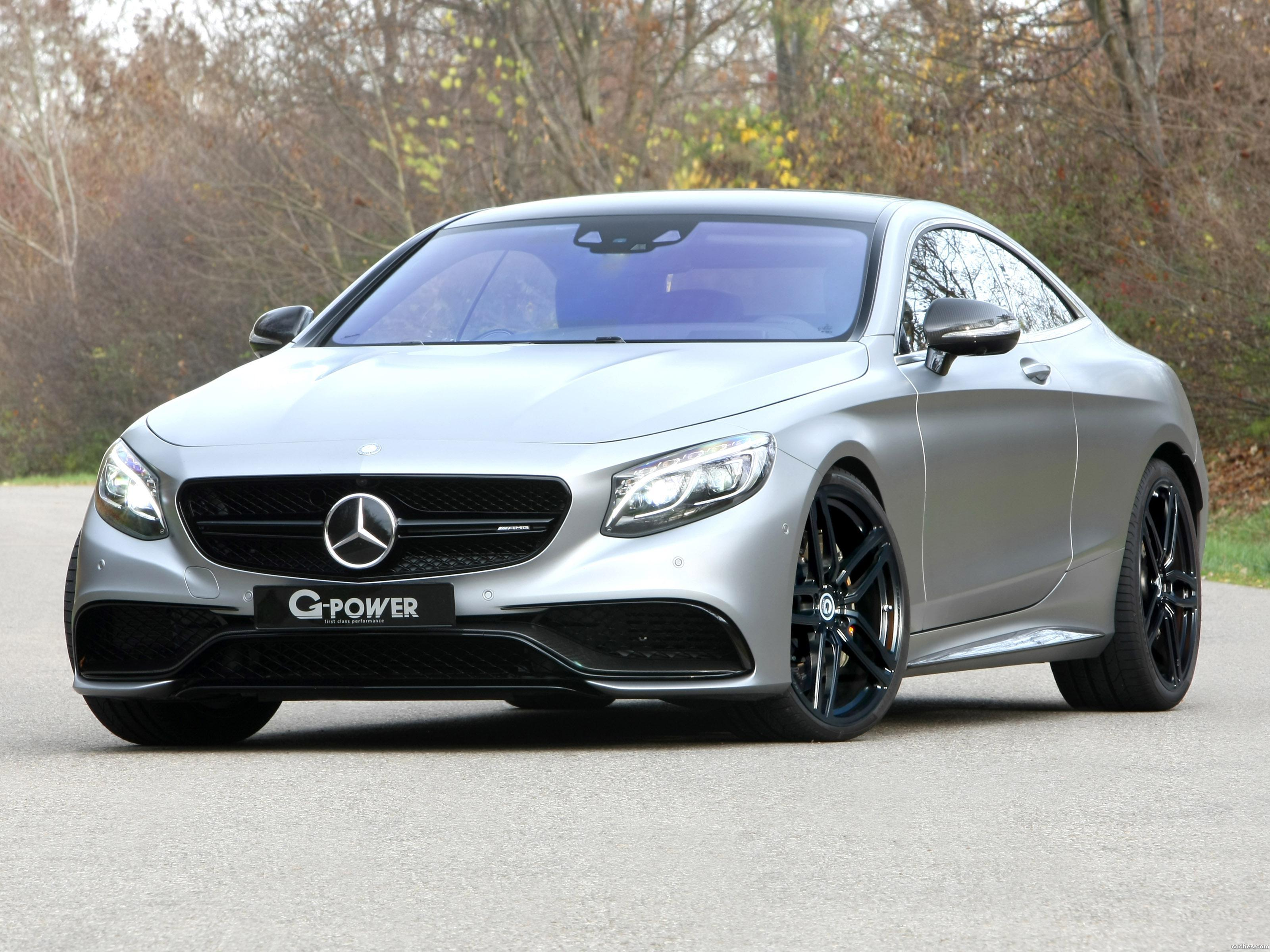 Foto 0 de G-power Mercedes AMG S63 Coupe C217 2016