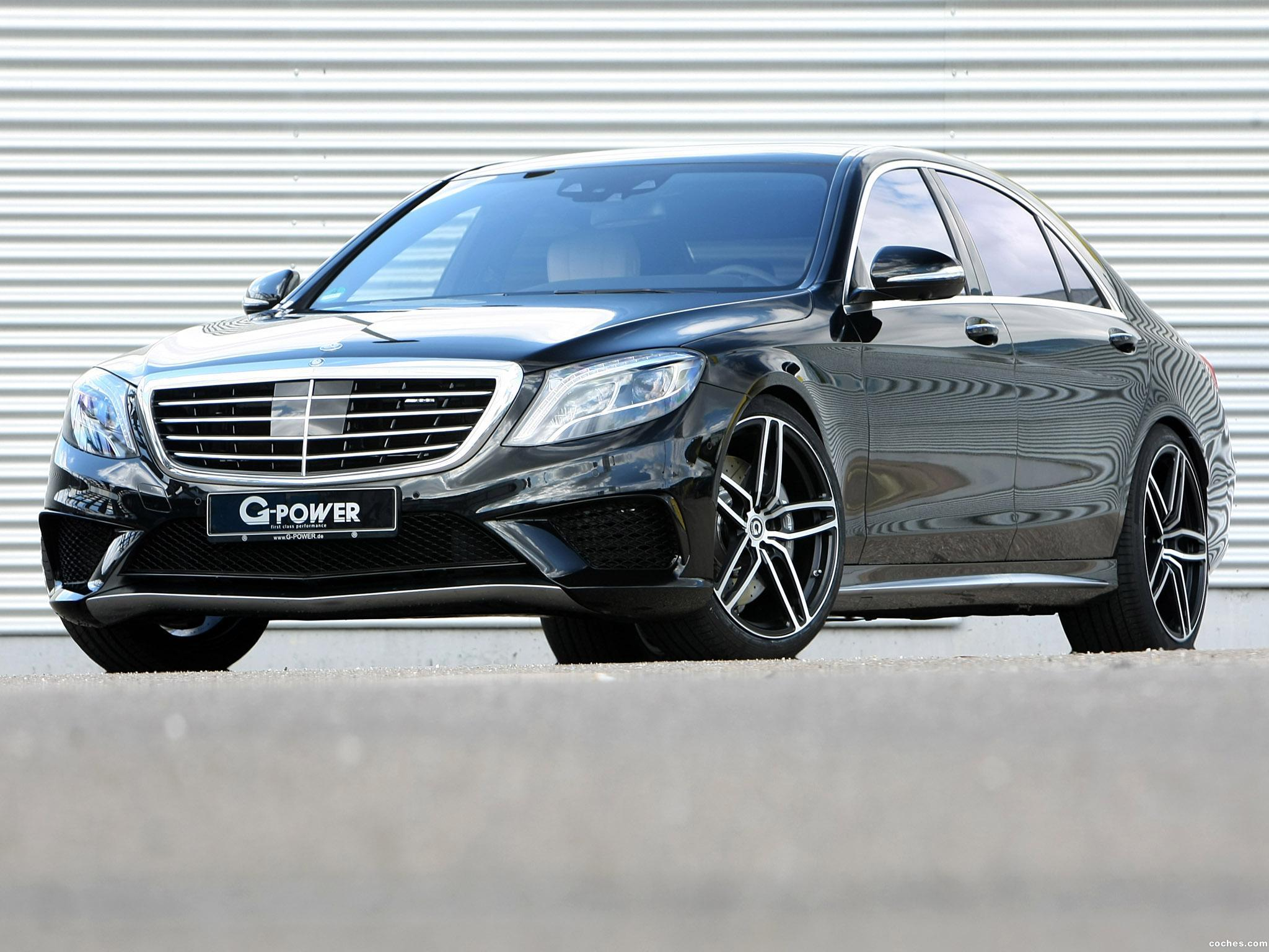 Foto 4 de G-power Mercedes AMG S63 Lang V222 2015
