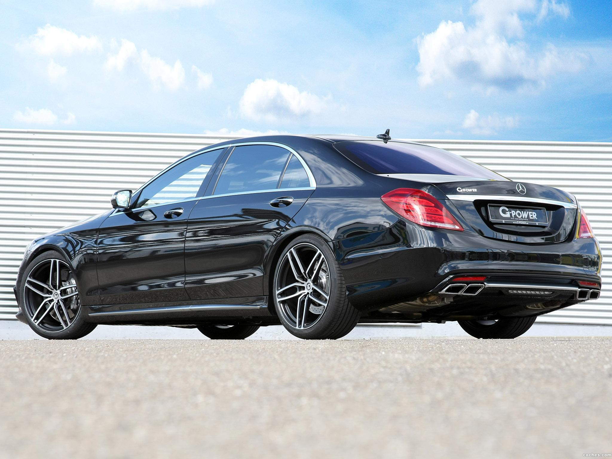 Foto 3 de G-power Mercedes AMG S63 Lang V222 2015
