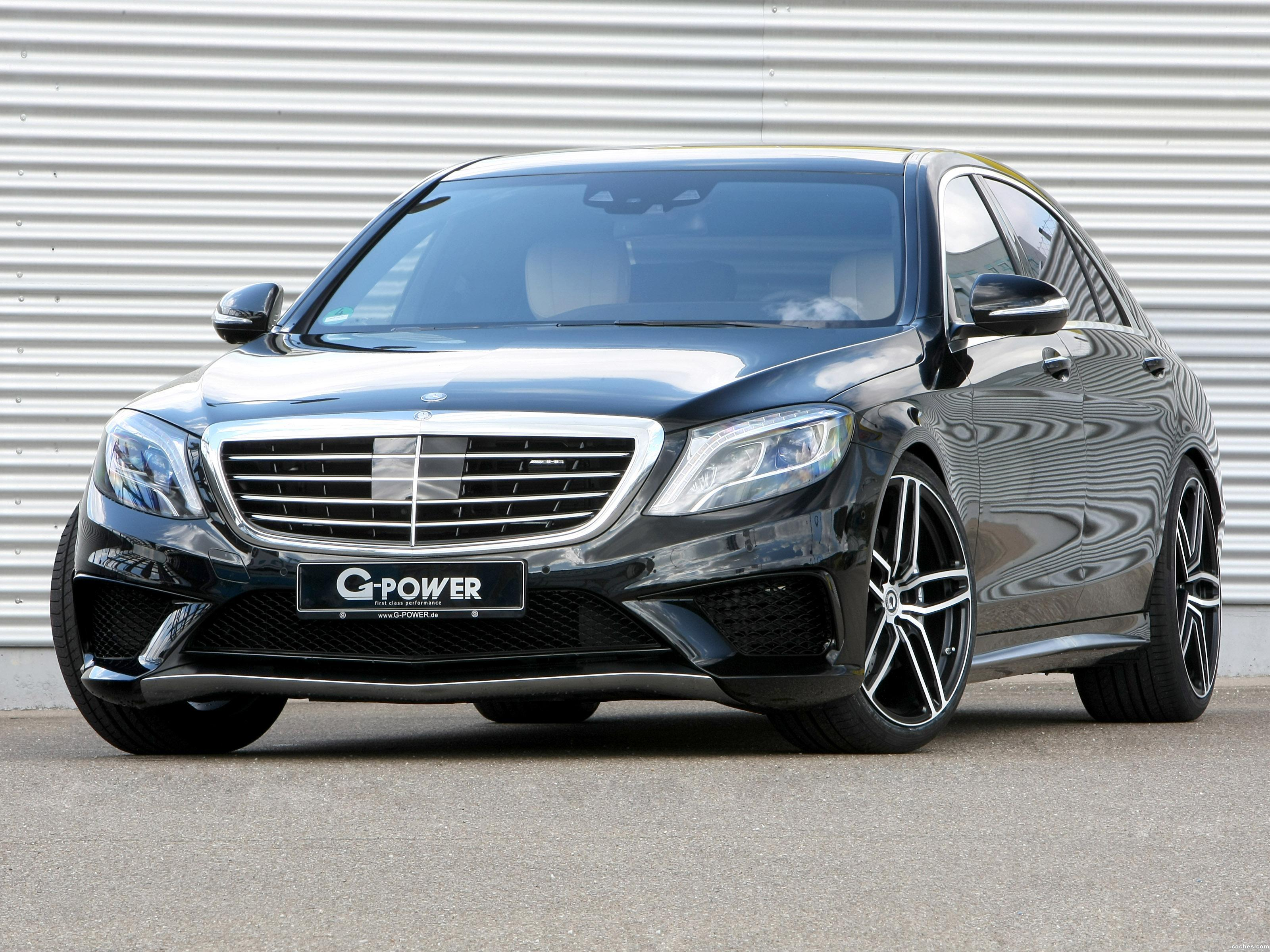 Foto 0 de G-power Mercedes AMG S63 Lang V222 2015