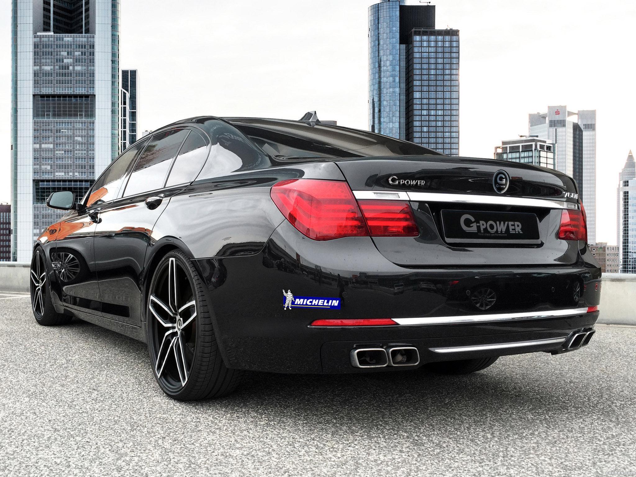Foto 2 de G-power BMW 760i F01 2015