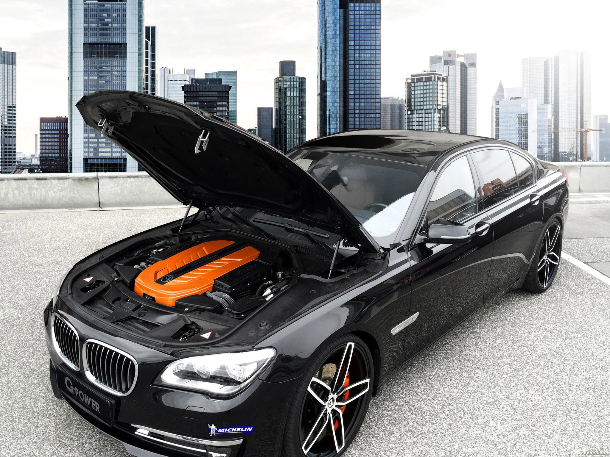 Foto 1 de G-power BMW 760i F01 2015