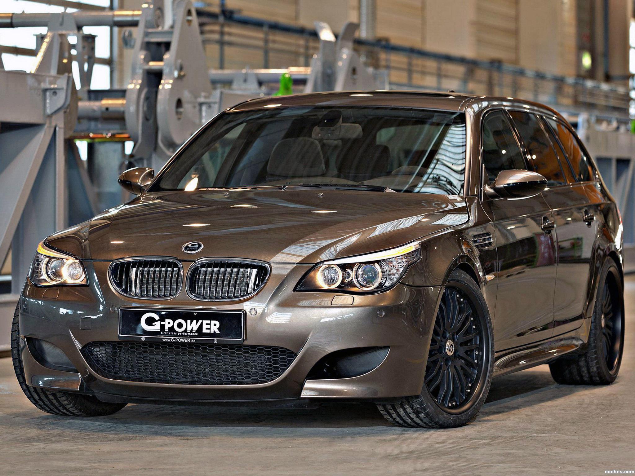Foto 0 de G Power BMW Serie 5 M5 Hurricane RR Touring E61 2014