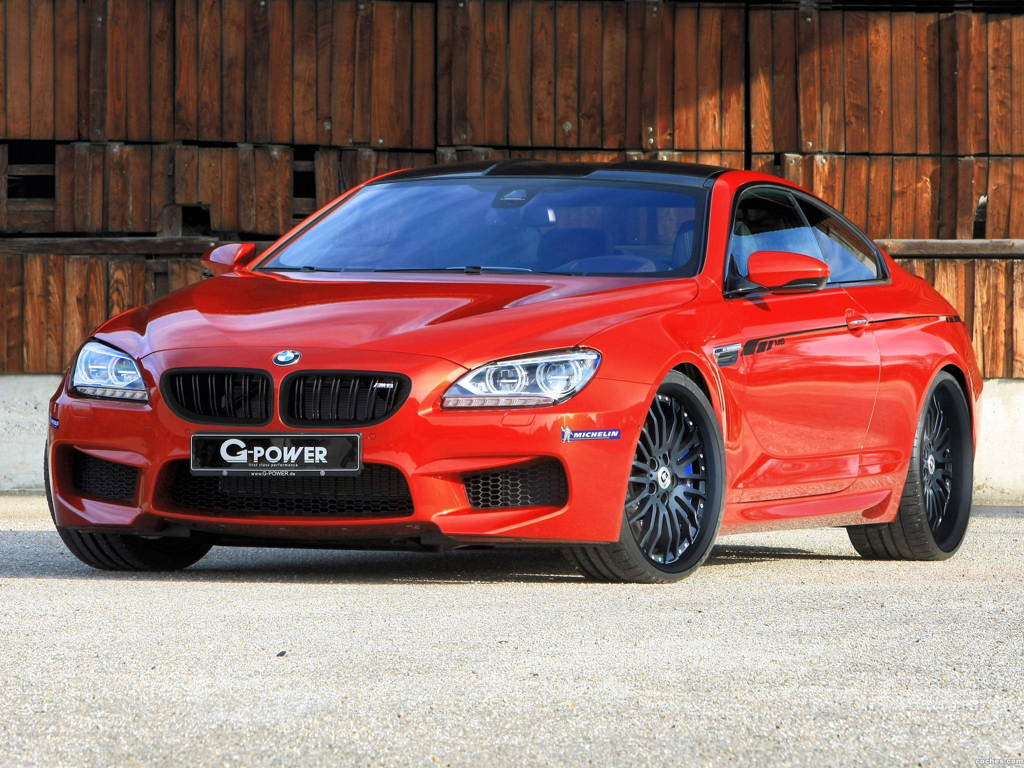 Foto 0 de G Power BMW  Serie 6 M6 Coupe F13 2013