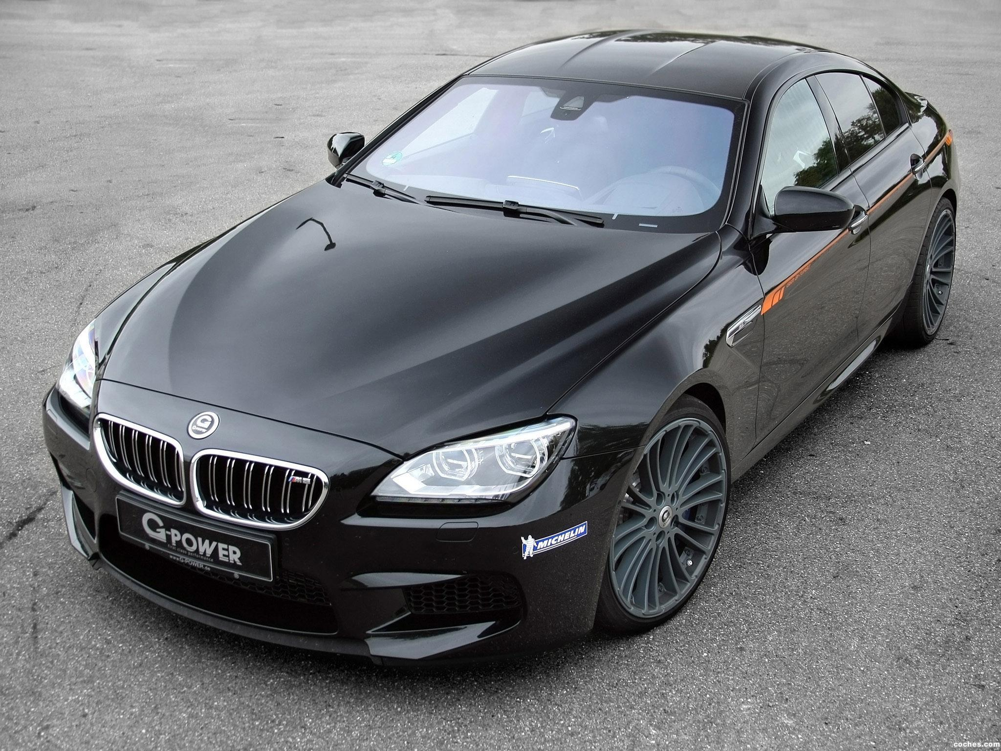 Foto 0 de BMW G Power Serie 6 M6 Gran Coupe 2013
