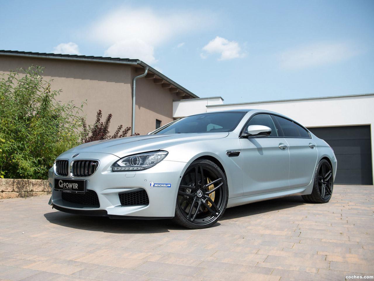 Foto 0 de BMW G-Power Serie 6 M6 Gran Coupe 2014