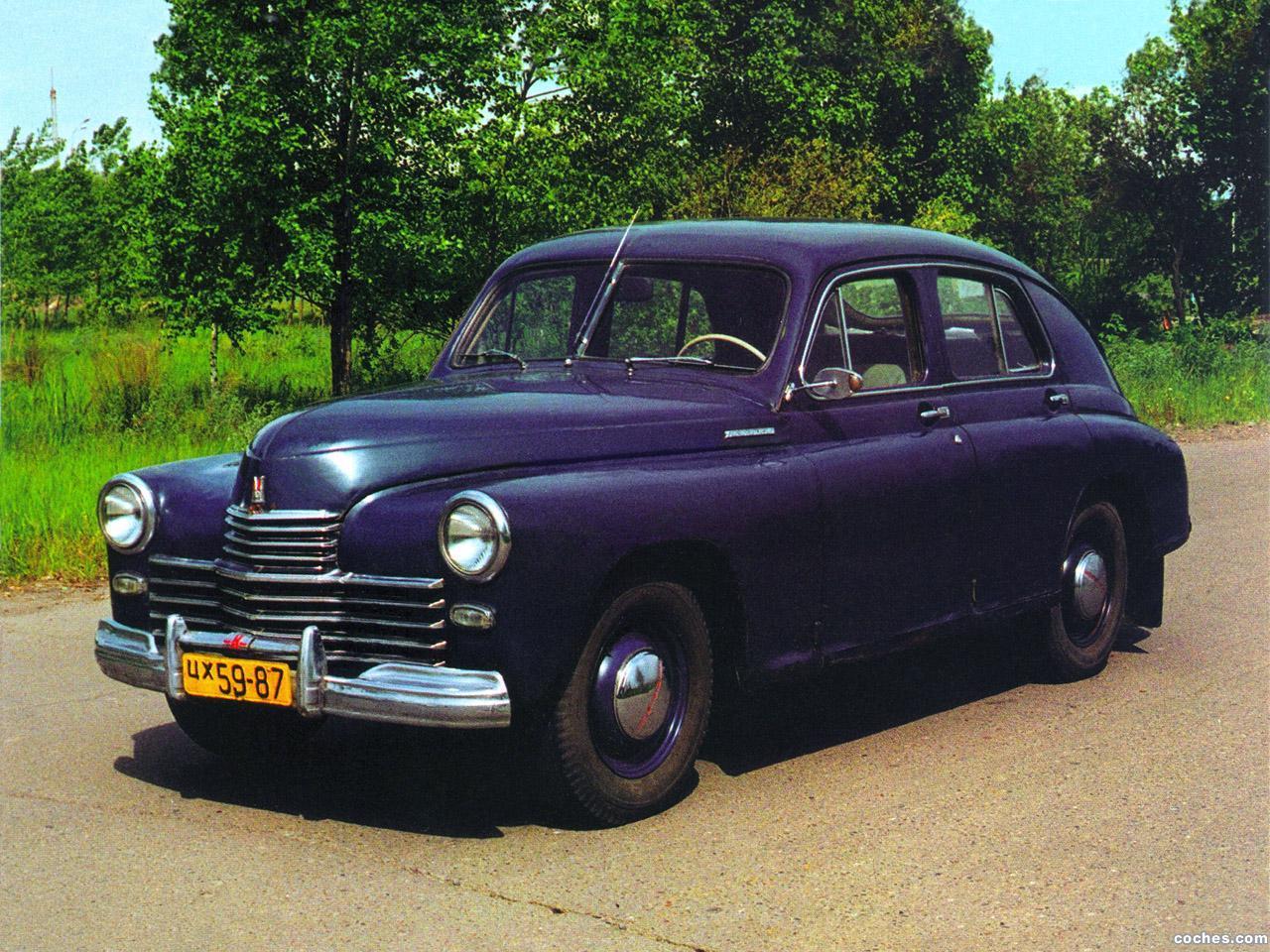 Foto 0 de GAZ M-20 Pobeda 1946