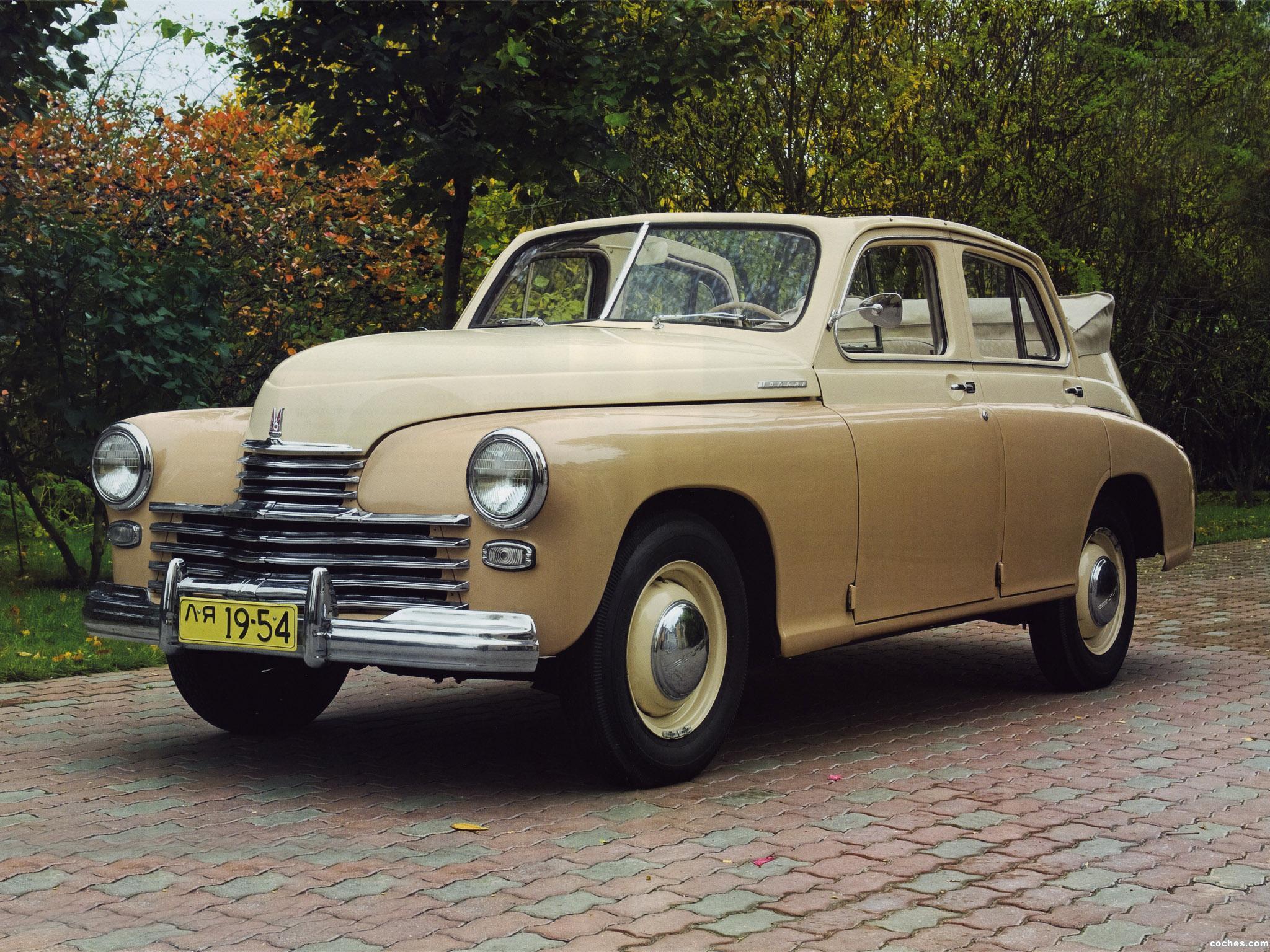 Foto 0 de GAZ M-20 Pobeda Cabriolet 1949
