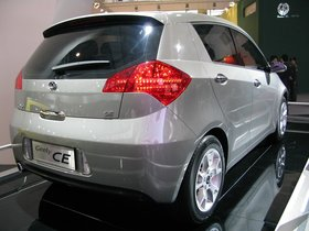 Ver foto 2 de Geely CE Concept 2008