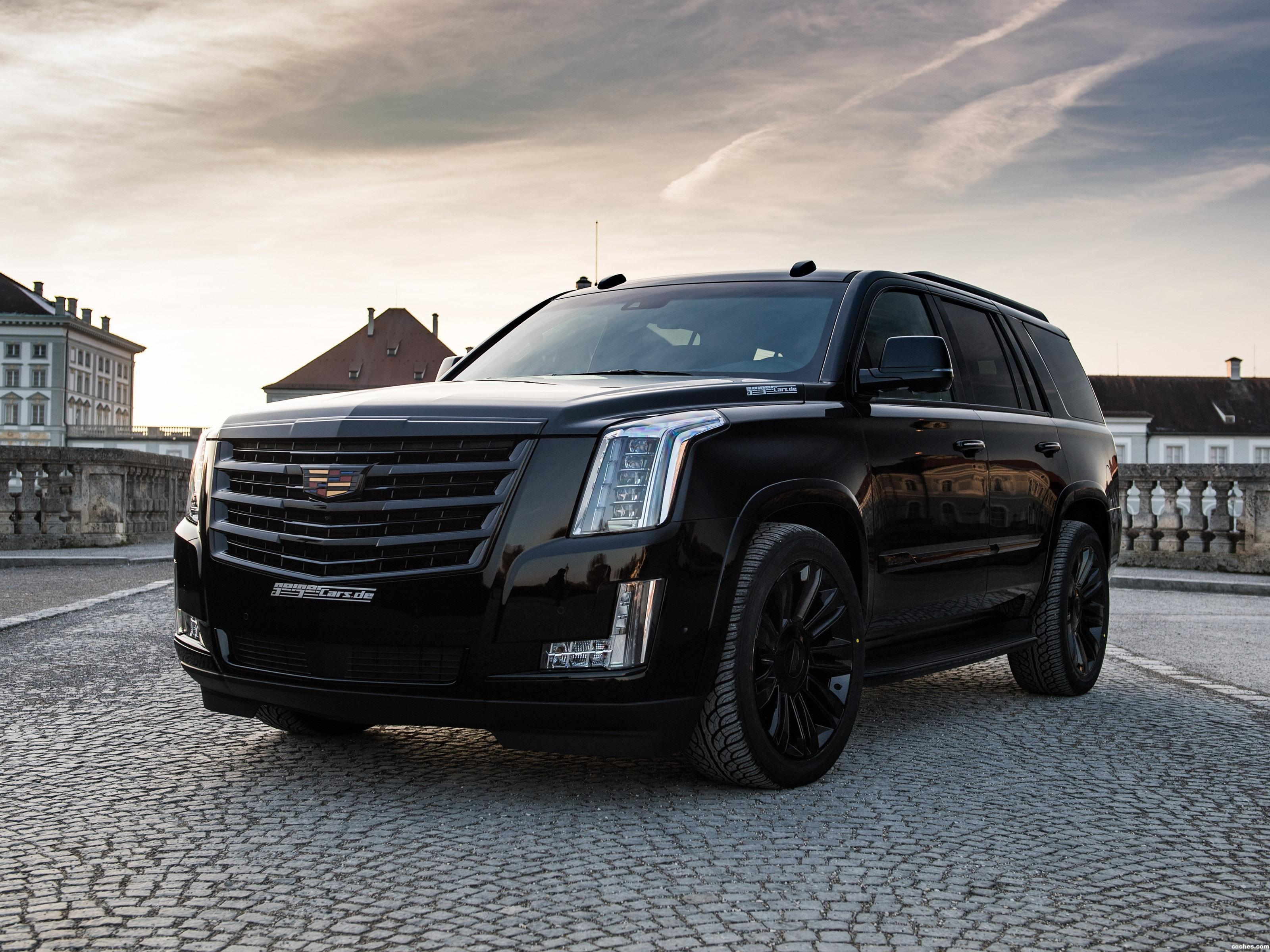 Foto 0 de Cadillac Escalade Black Edition by Geiger 2018