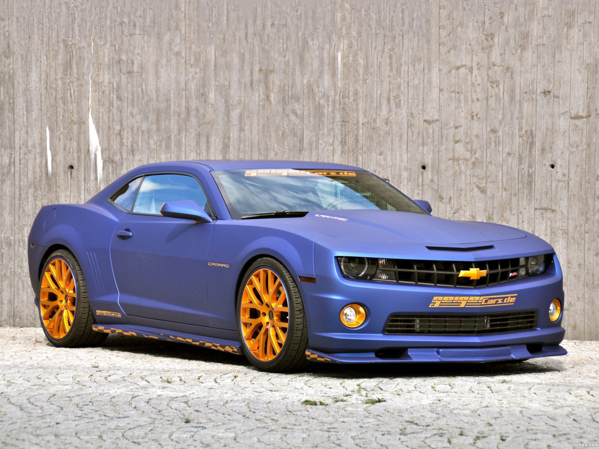 Foto 0 de Geiger Chevrolet Camaro SS Blaumatt Gold 2011