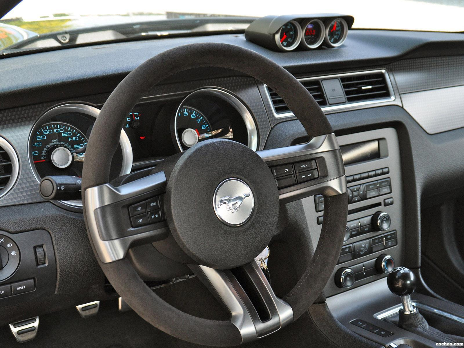 Foto 11 de Geiger Ford Mustang Boss 302 Laguna Seca 2012