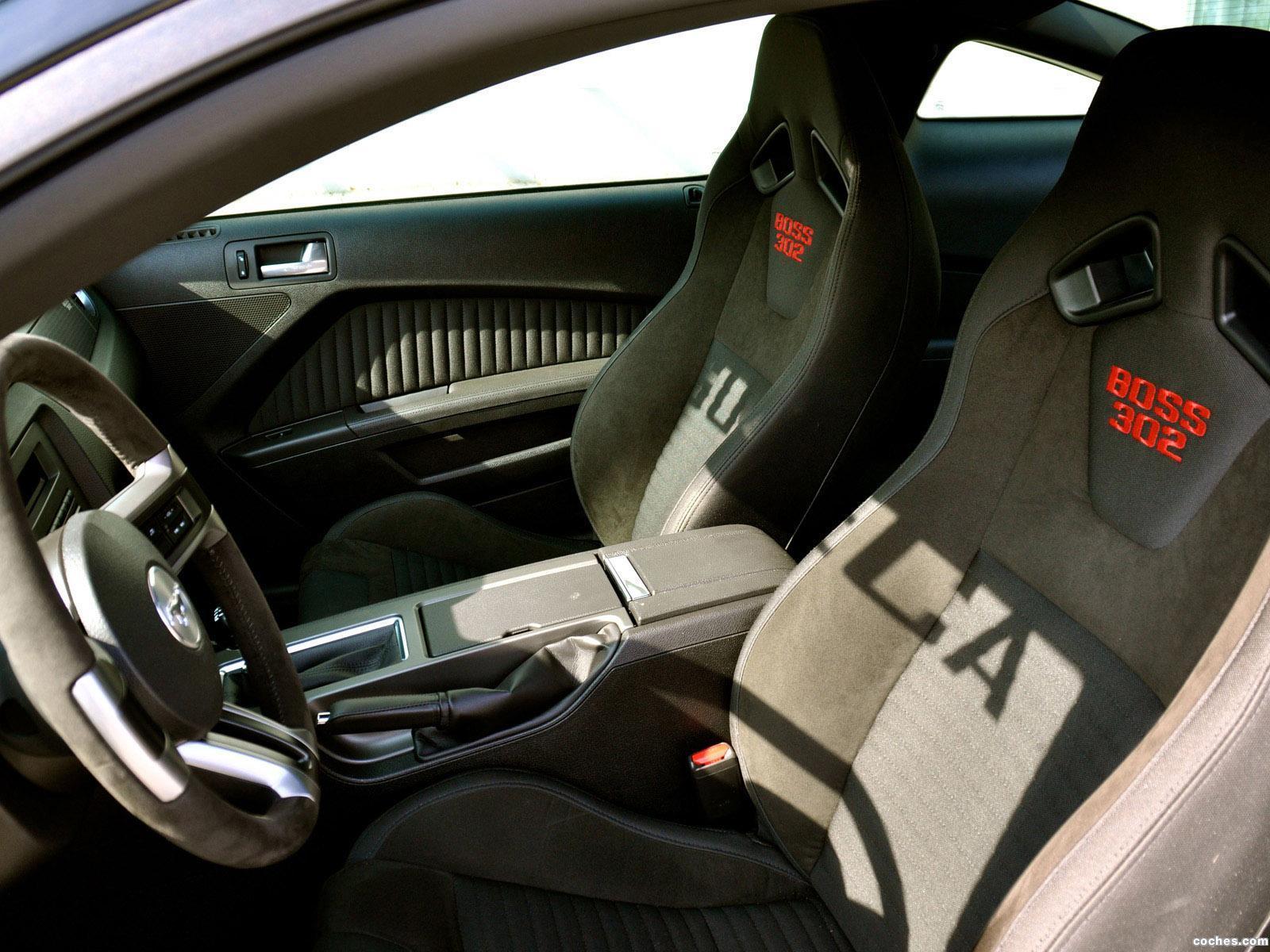 Foto 9 de Geiger Ford Mustang Boss 302 Laguna Seca 2012