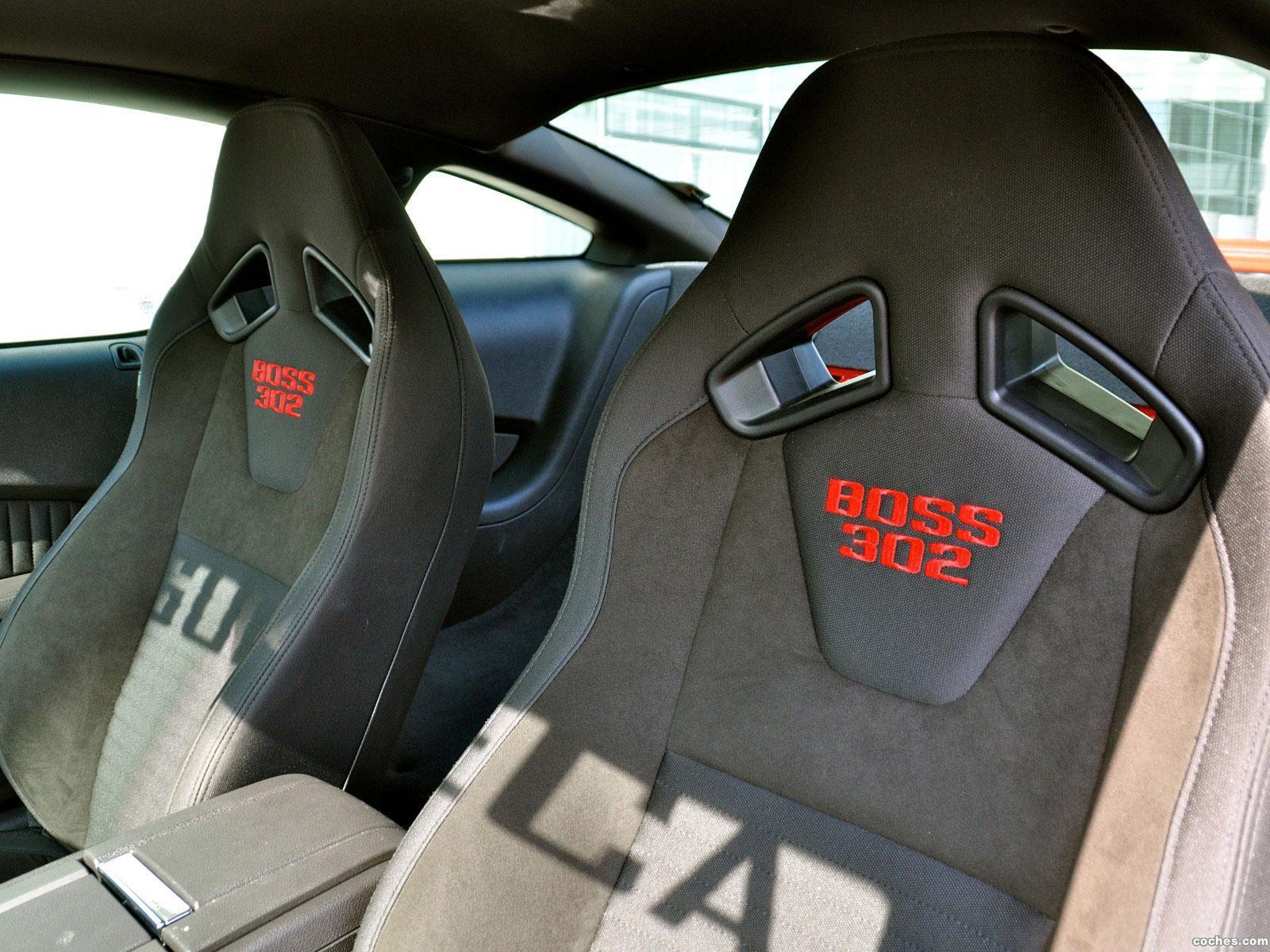 Foto 8 de Geiger Ford Mustang Boss 302 Laguna Seca 2012