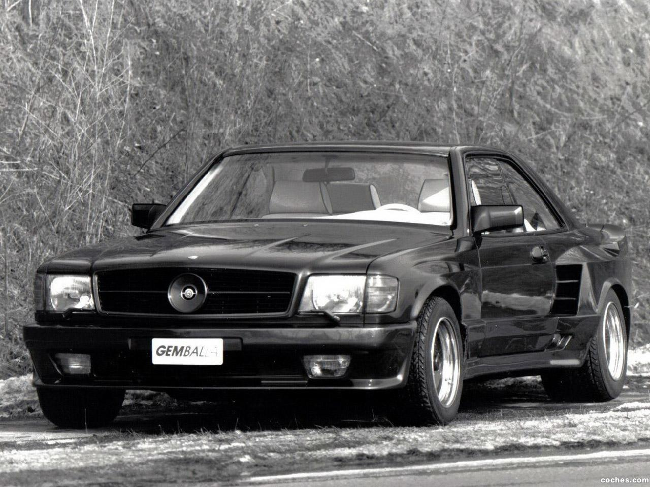 Foto 0 de Gemballa Mercedes 500SEC Widebody C126 1985