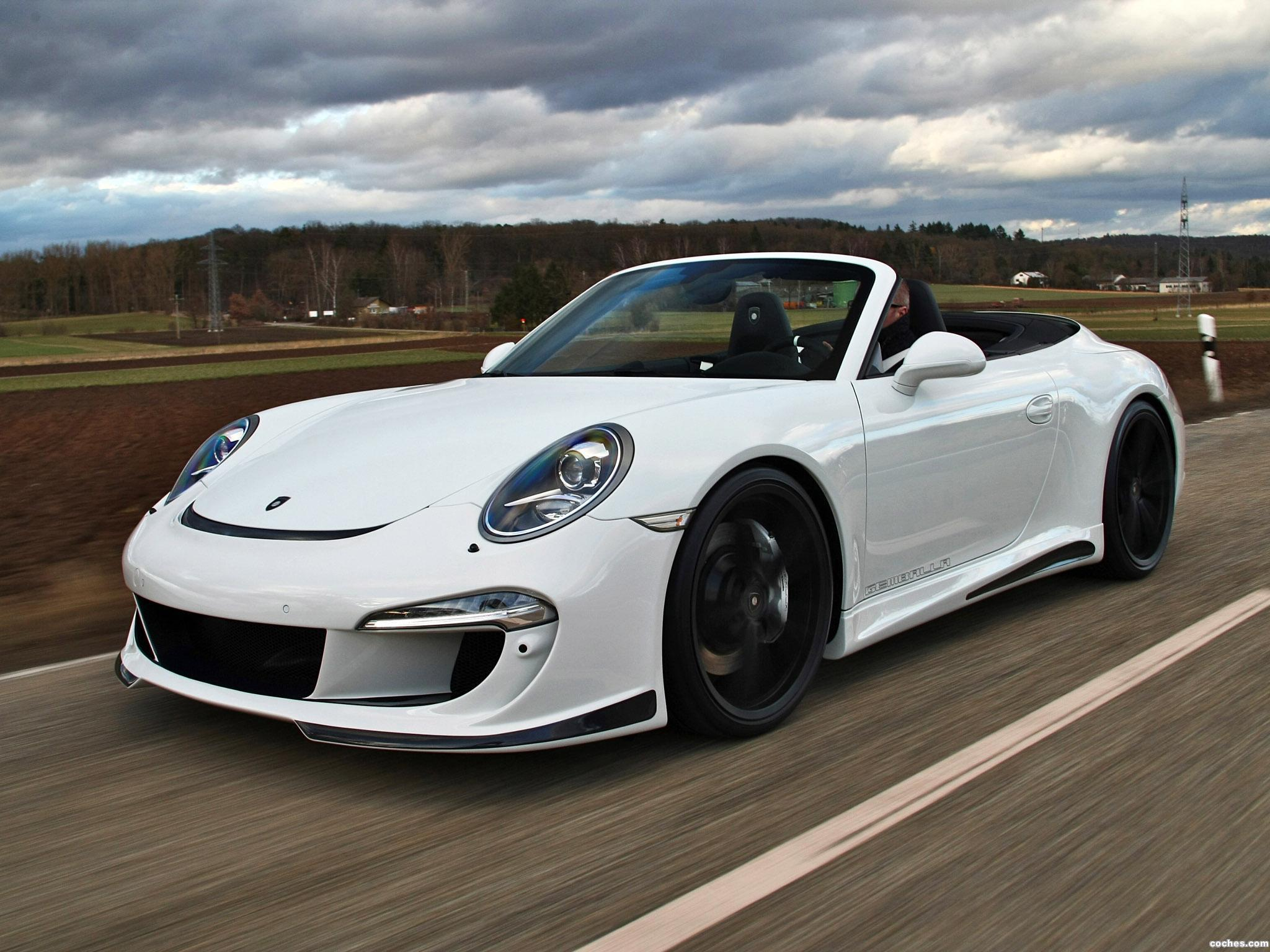 Foto 0 de Porsche Gemballa 911 GT Cabrio 991 2013
