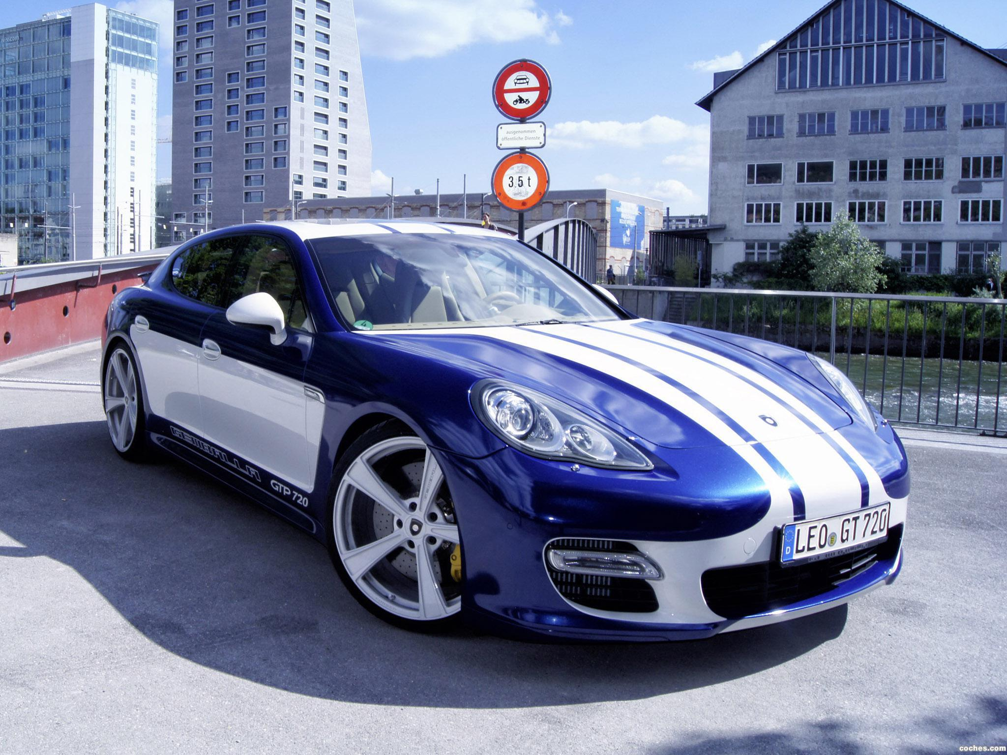 Foto 0 de Gemballa Porsche Panamera GTP 720 2015