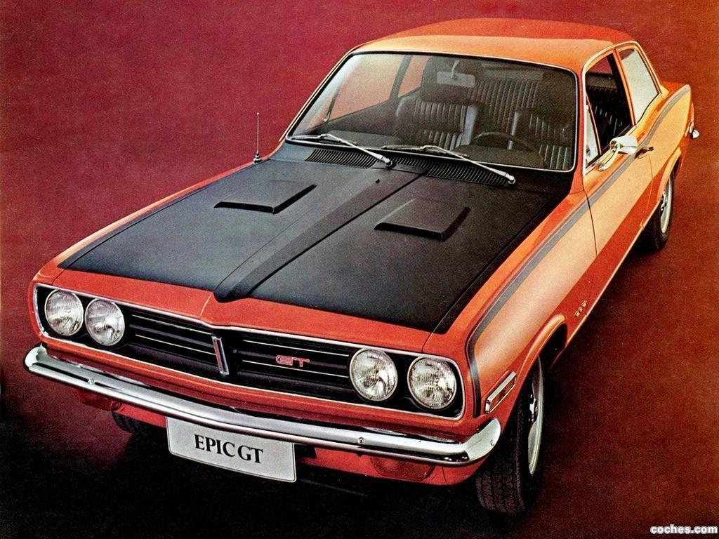 Foto 0 de GM Epic GT 1970