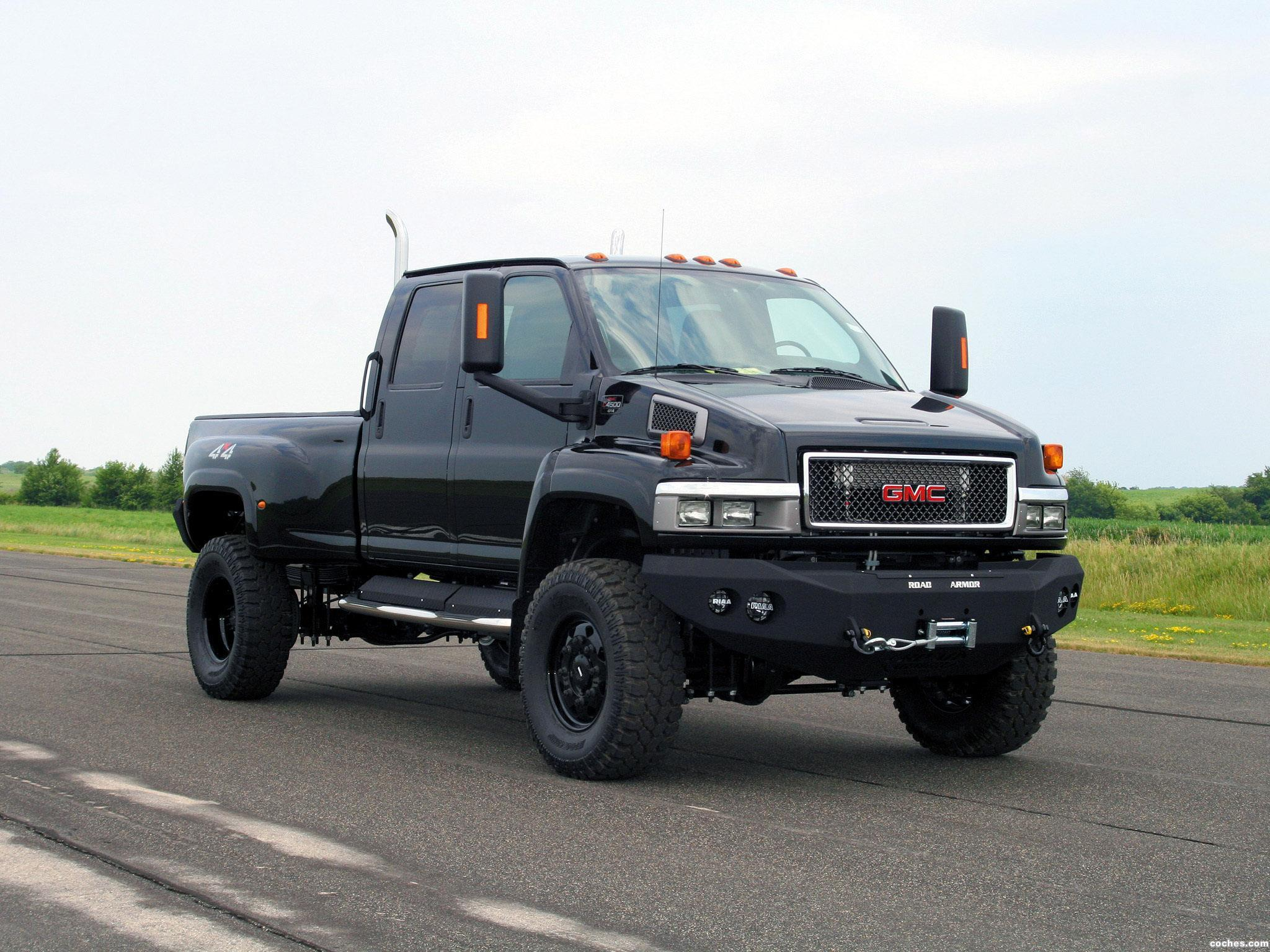 Pickup For Sale Gmc C5500 Topkick 4x4 Crew Cab Pictures