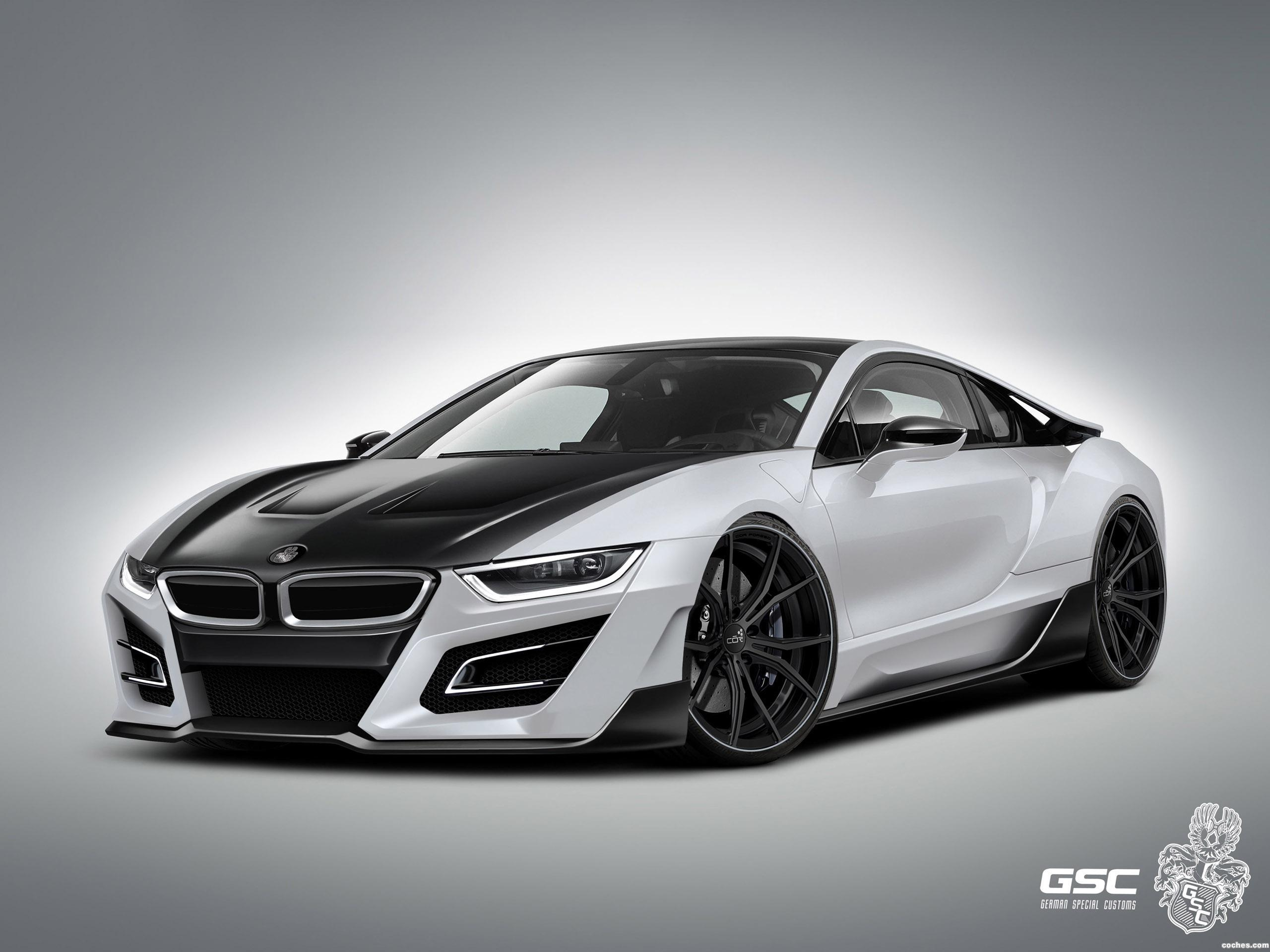 Foto 2 de BMW German Special Customs i8 iTRON 2014
