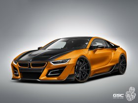Fotos de BMW German Special Customs i8 iTRON 2014