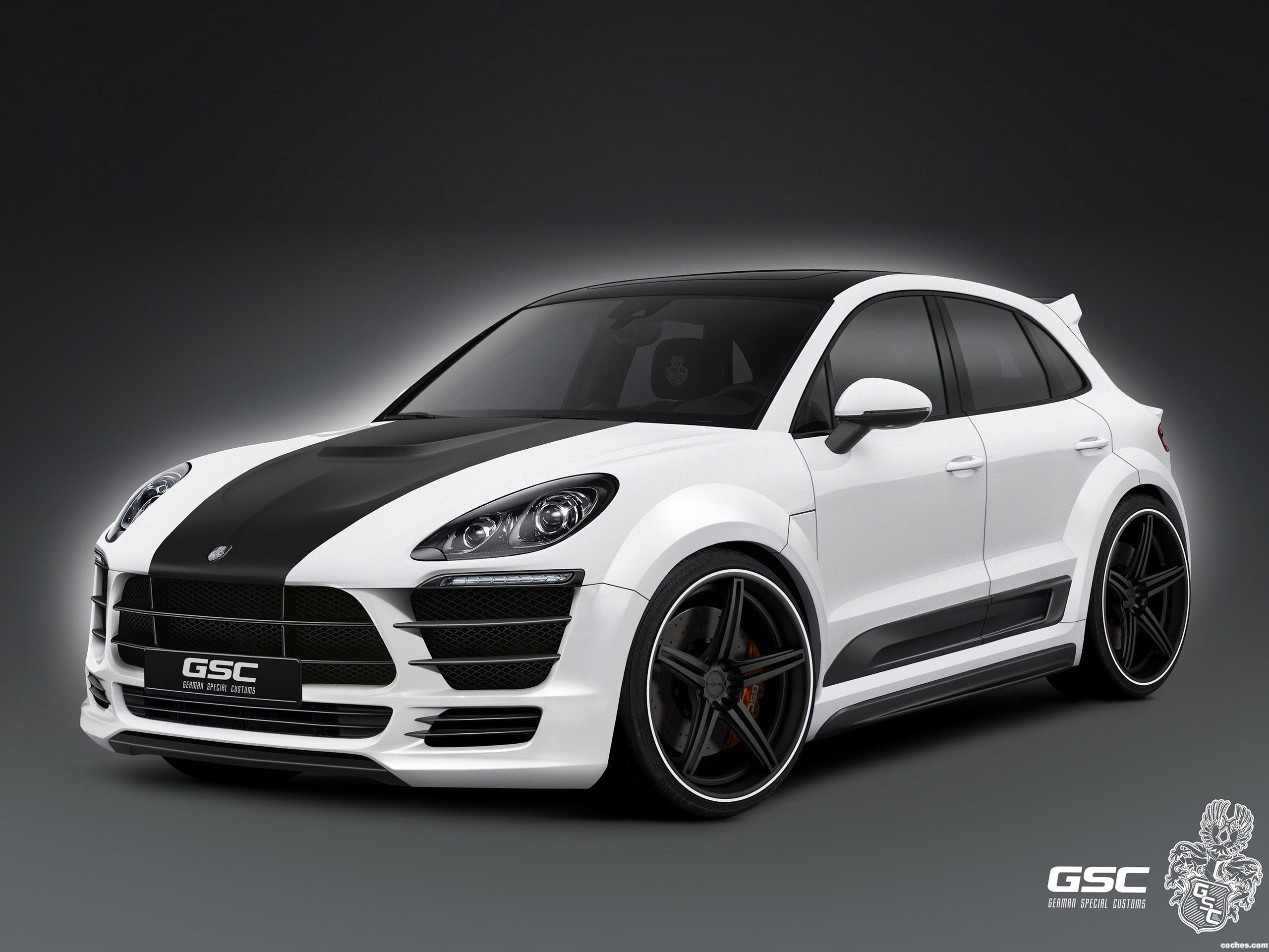 Foto 0 de Porsche GSC Macan 2014