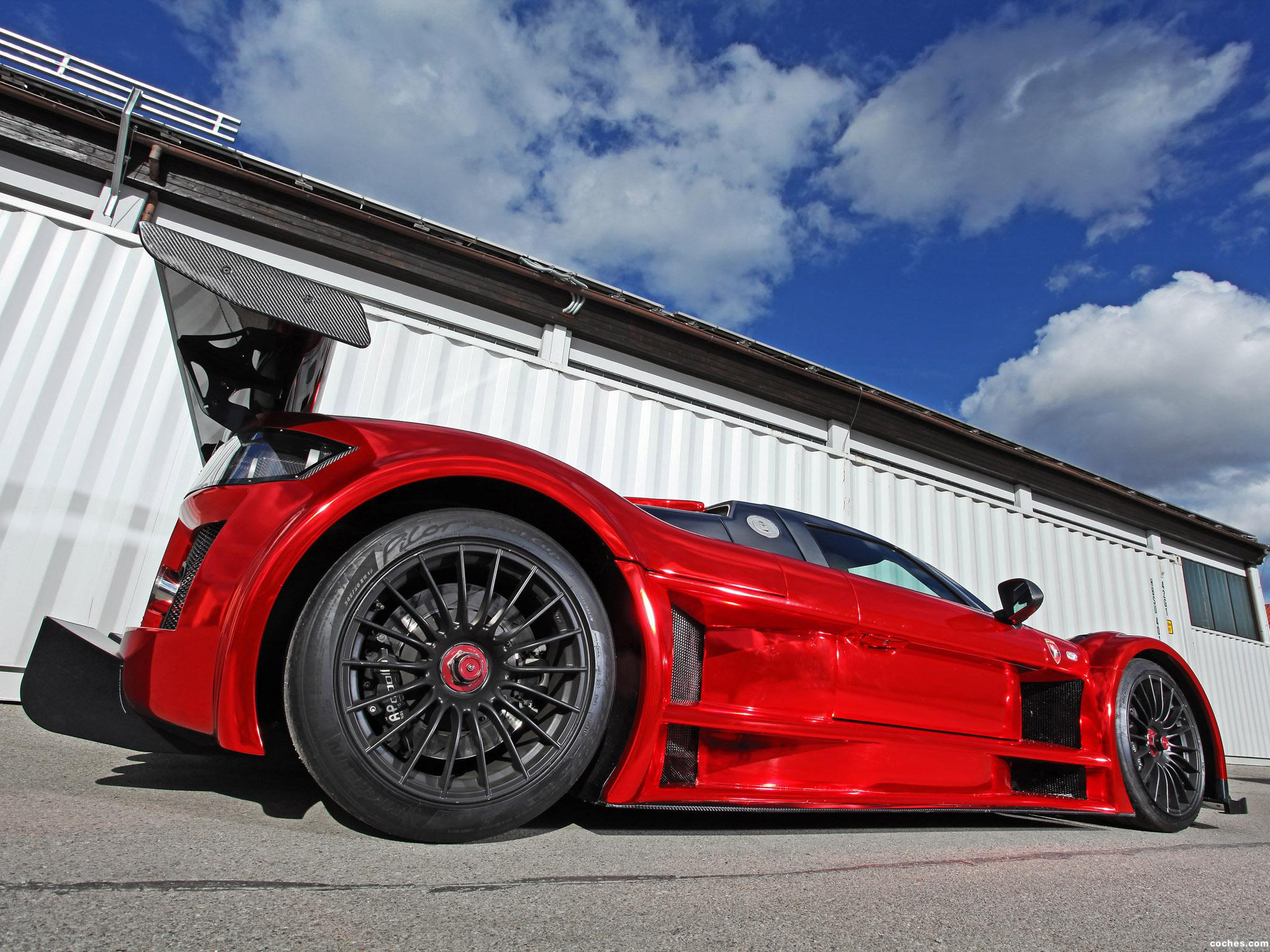 Foto 6 de Gumpert Apollo S 2M Designs Ironcar 2014