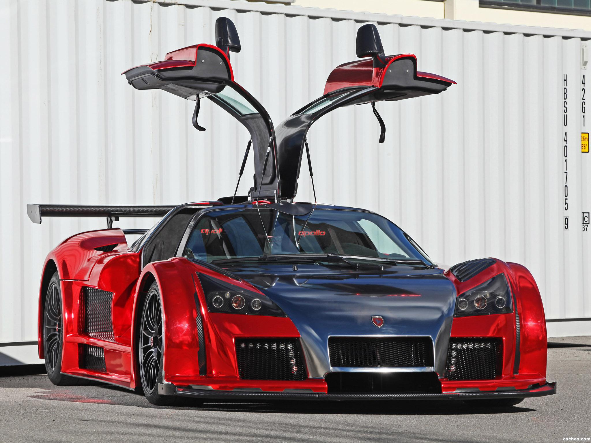 Foto 10 de Gumpert Apollo S 2M Designs Ironcar 2014