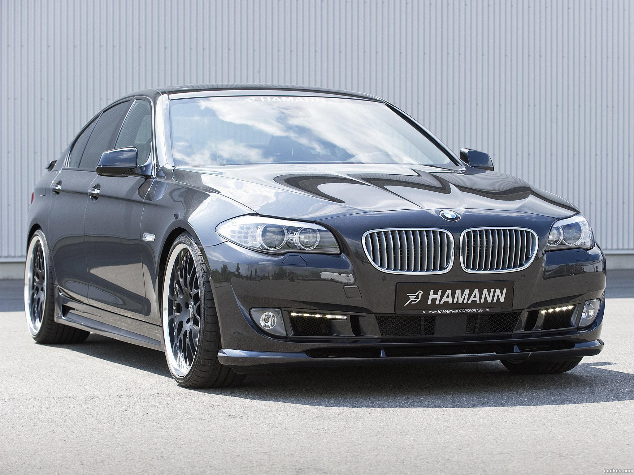 Foto 0 de BMW 5-Series F10 hamann 2010