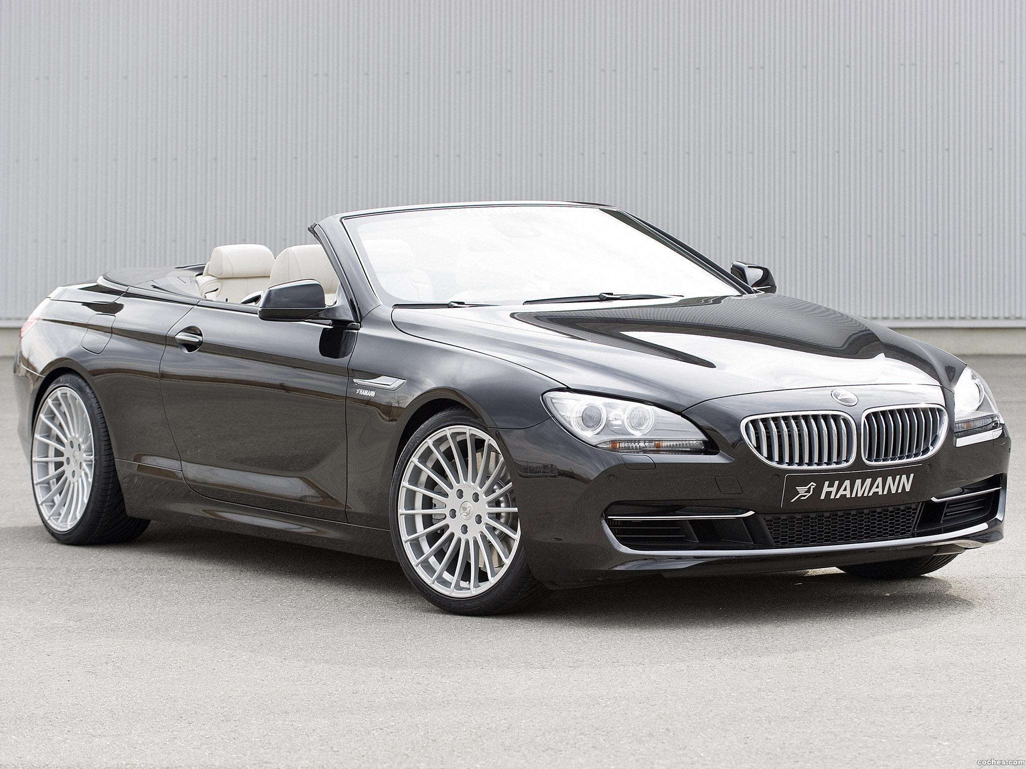 Foto 0 de BMW Hamann Serie 6 Cabrio F12 2011