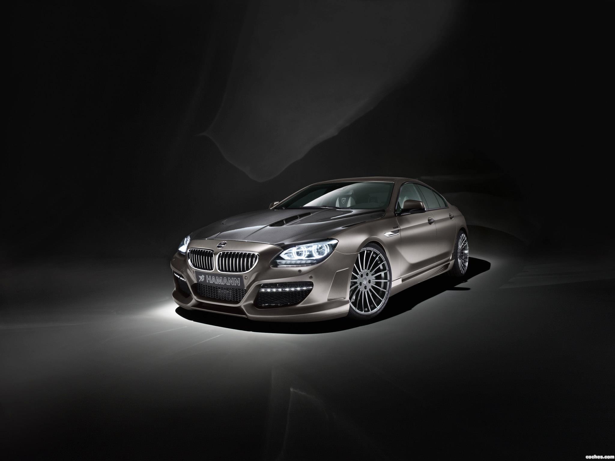 Foto 0 de BMW Hamann Serie 6 Gran Coupe F06 2012