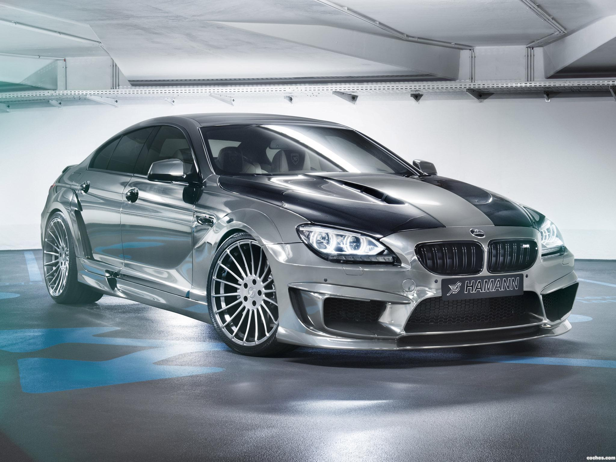 Foto 0 de BMW Hamann Serie 6 Gran Coupe Mirr6r F06 2013